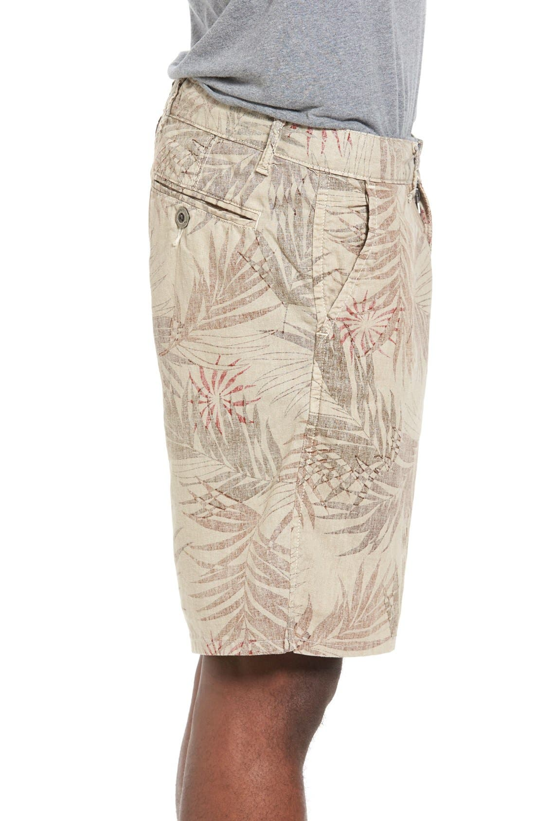 Rio Linen Shorts,                             Alternate thumbnail 5, color,                             280