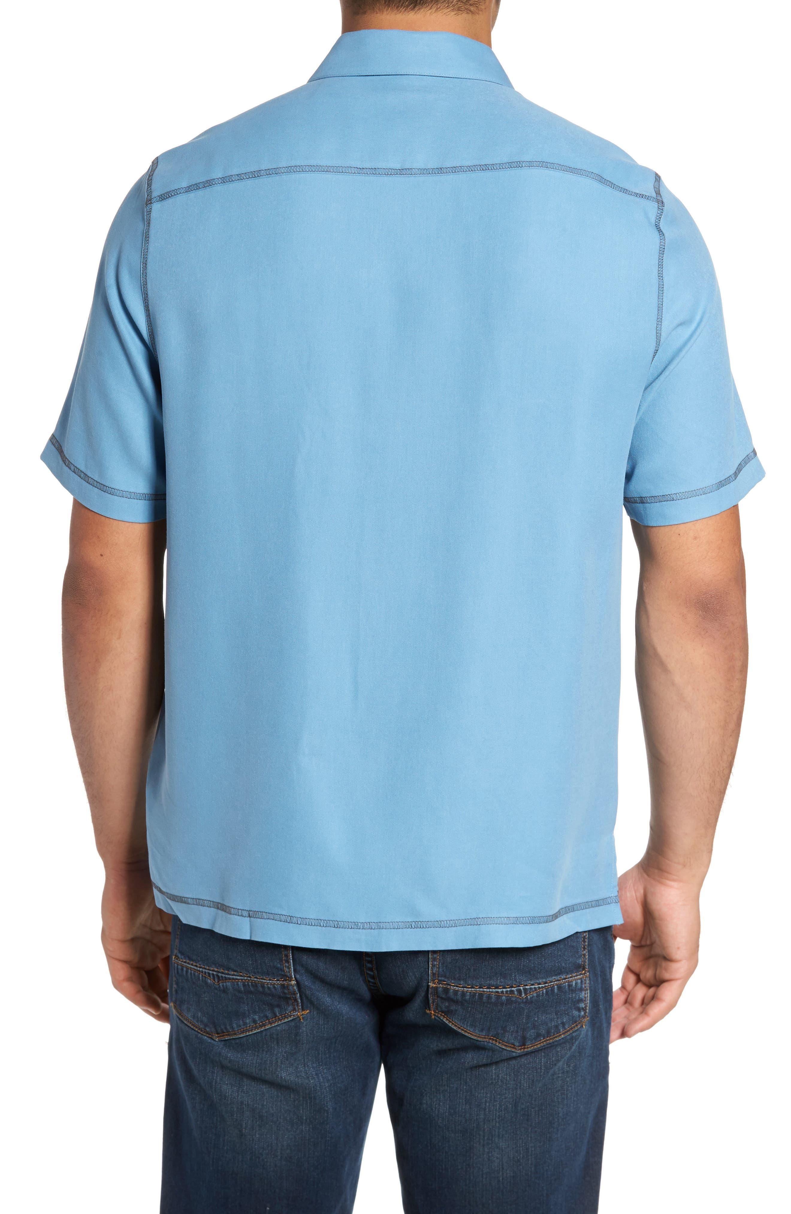 New Originals Silk Sport Shirt,                             Alternate thumbnail 6, color,