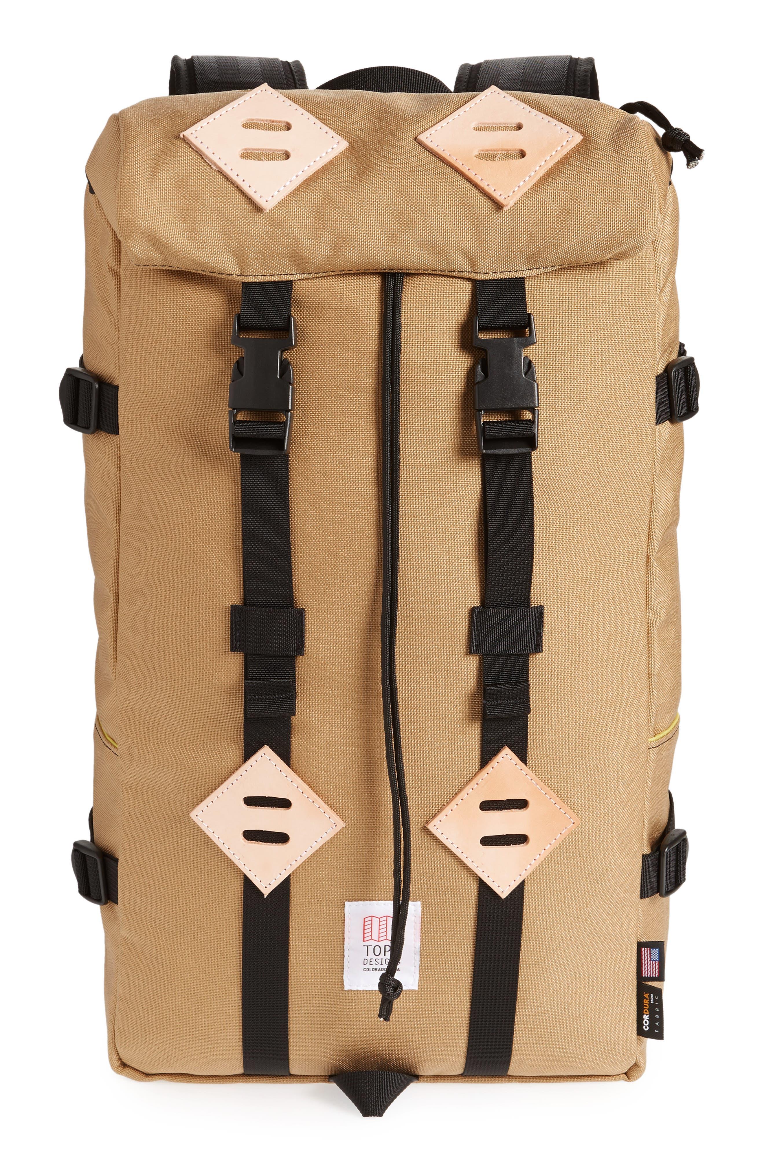 'Klettersack' Backpack,                         Main,                         color, KHAKI