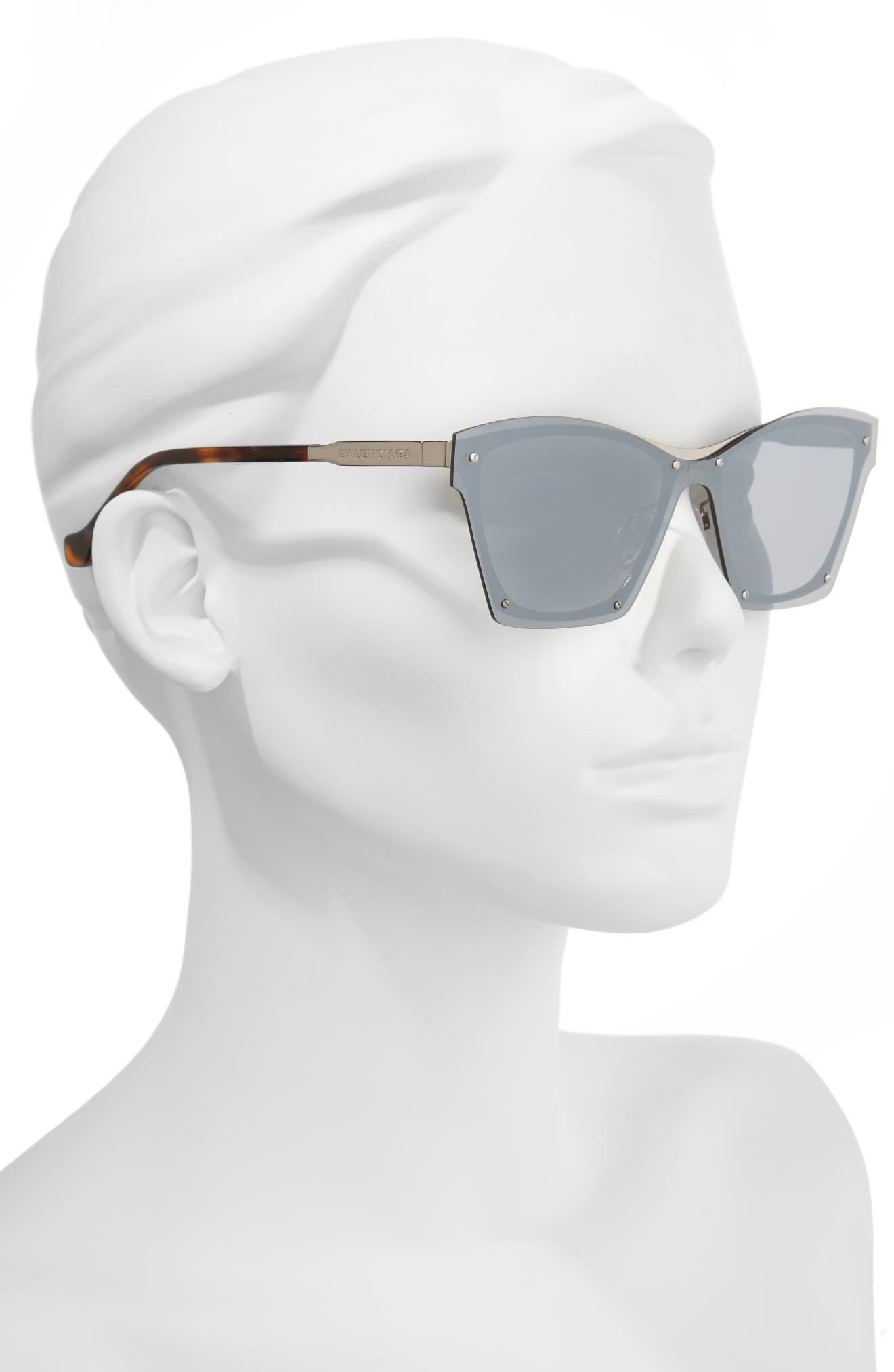 55mm Frameless Sunglasses,                             Alternate thumbnail 2, color,                             040