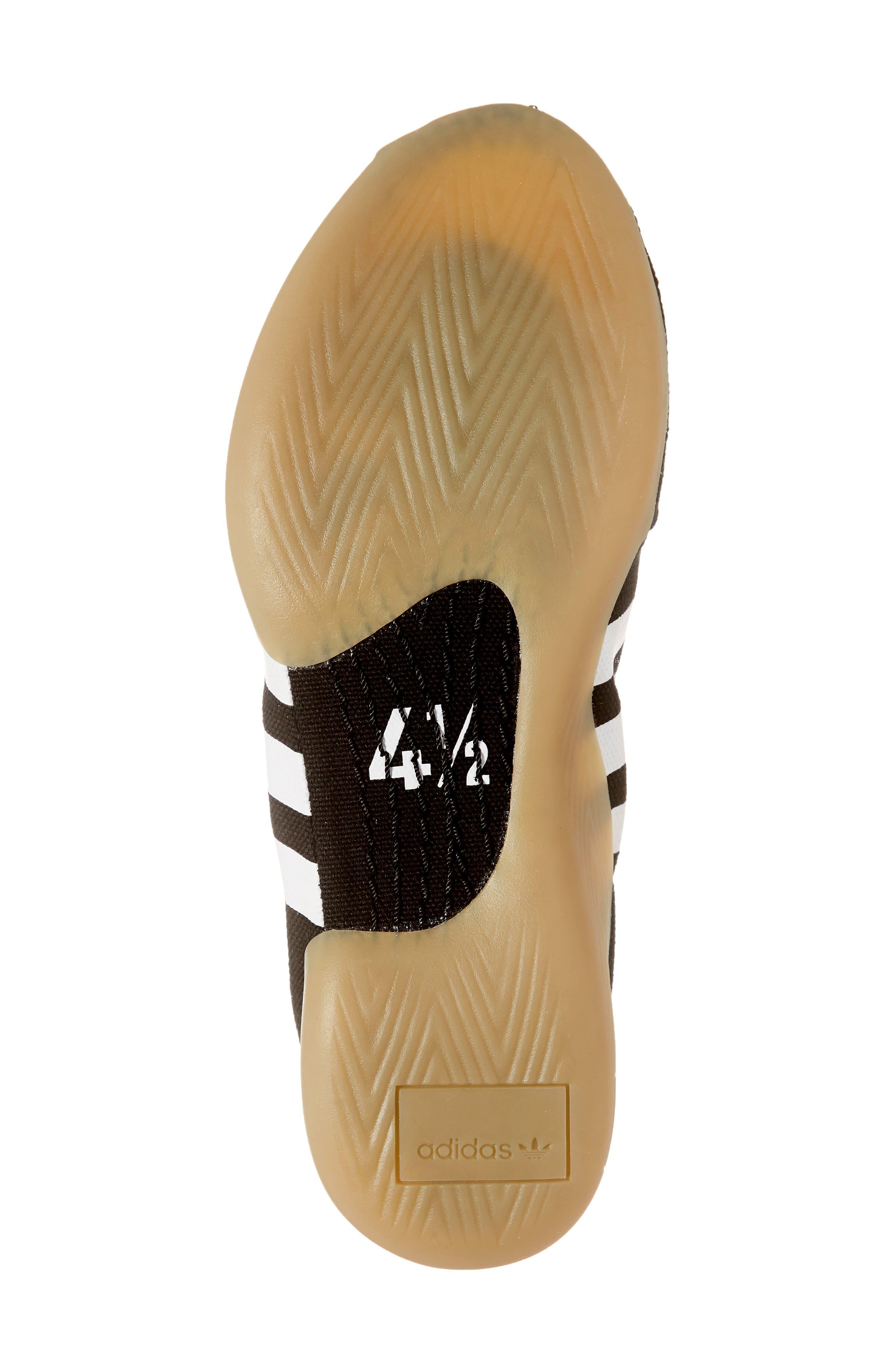 Taekwondo Slip-On Sneaker,                             Alternate thumbnail 6, color,                             CORE BLACK/ WHITE/ GUM 3