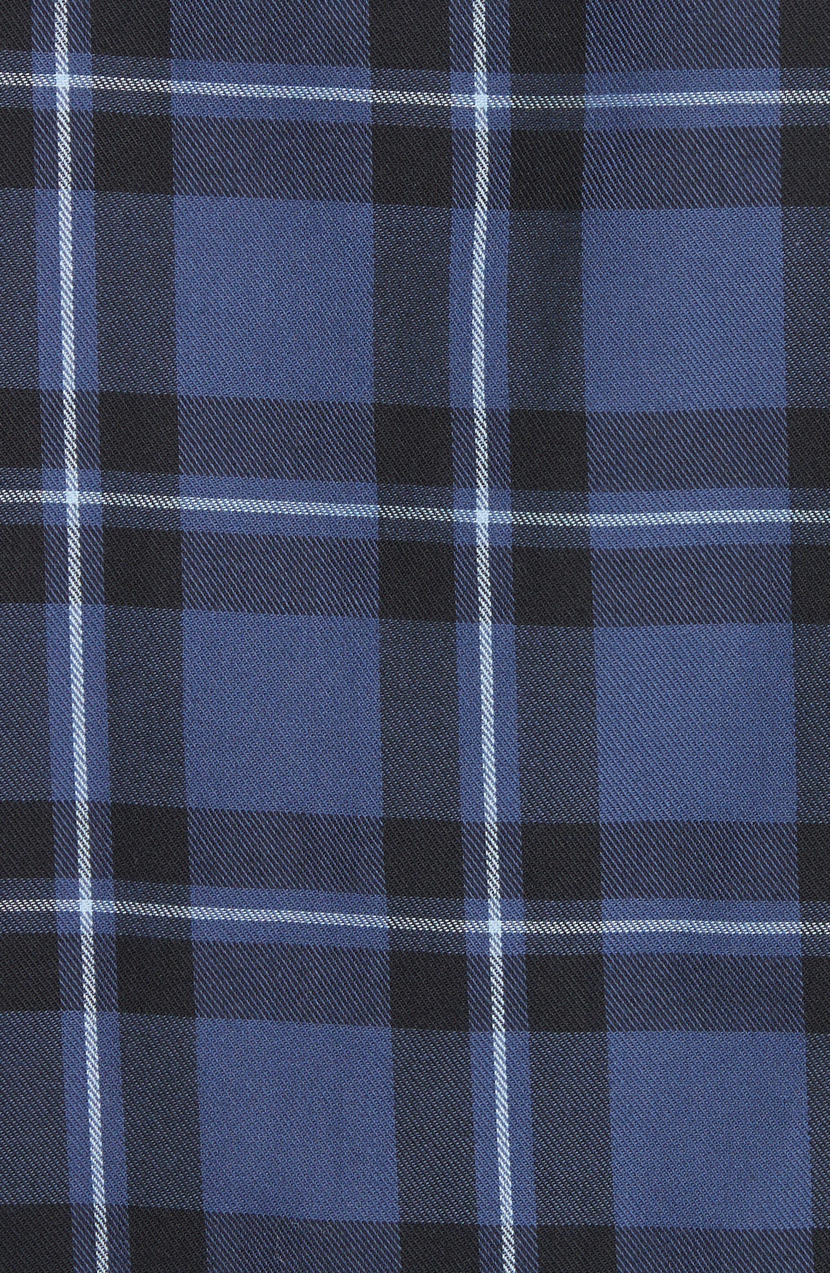 Hans Check Woven Shirt,                             Alternate thumbnail 5, color,                             410