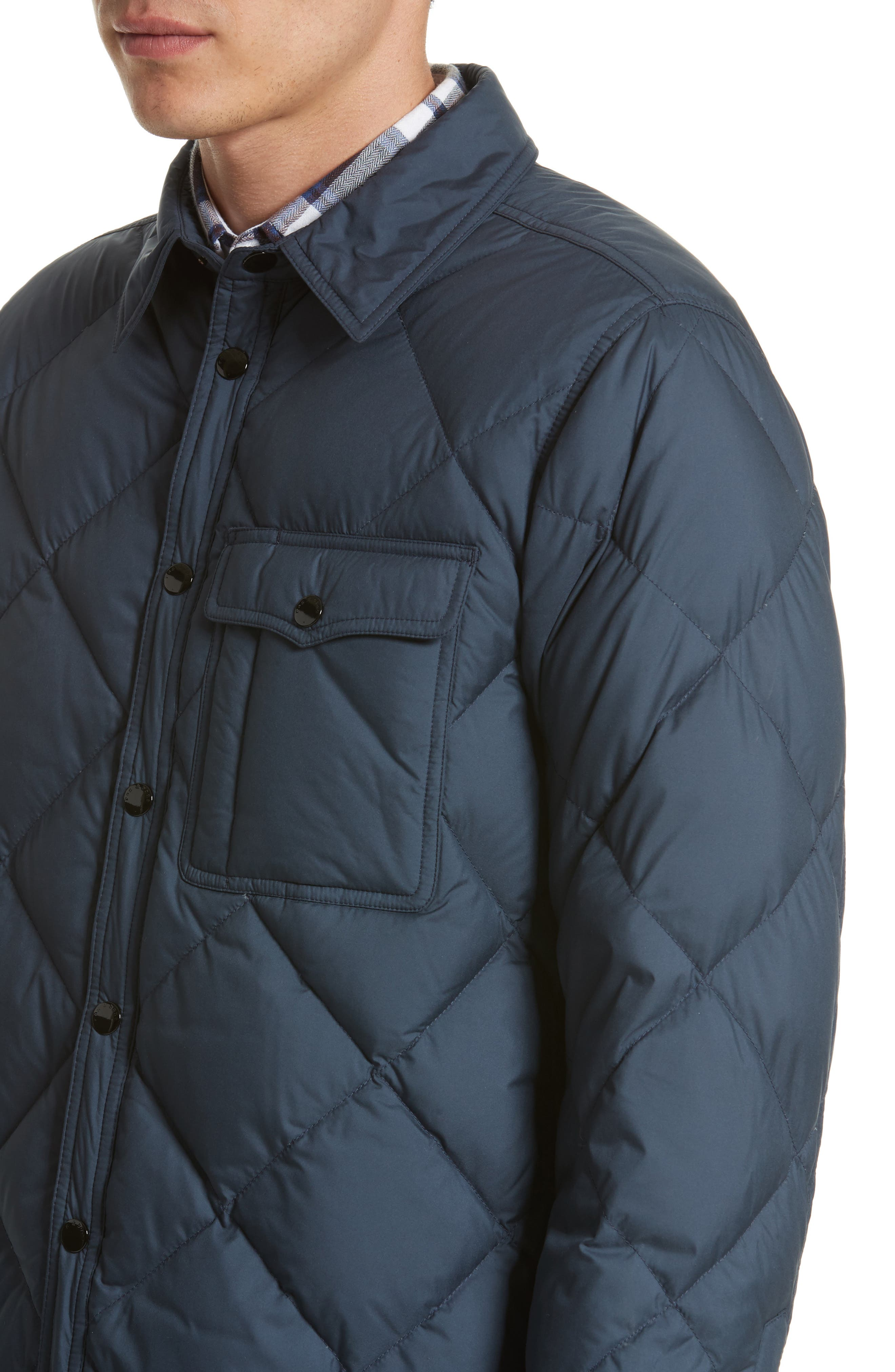 Mallory Quilted Jacket,                             Alternate thumbnail 5, color,                             415