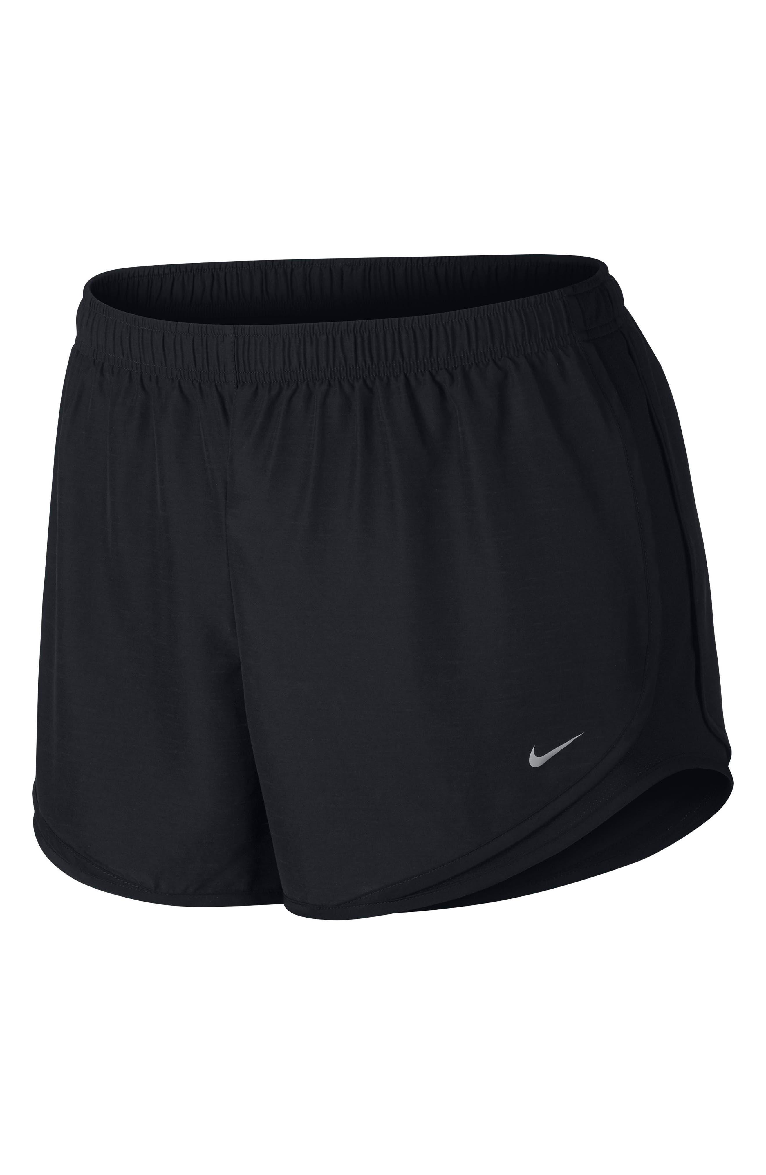 Dry Tempo Running Shorts,                             Main thumbnail 1, color,                             BLACK/ BLACK/ WOLF GREY