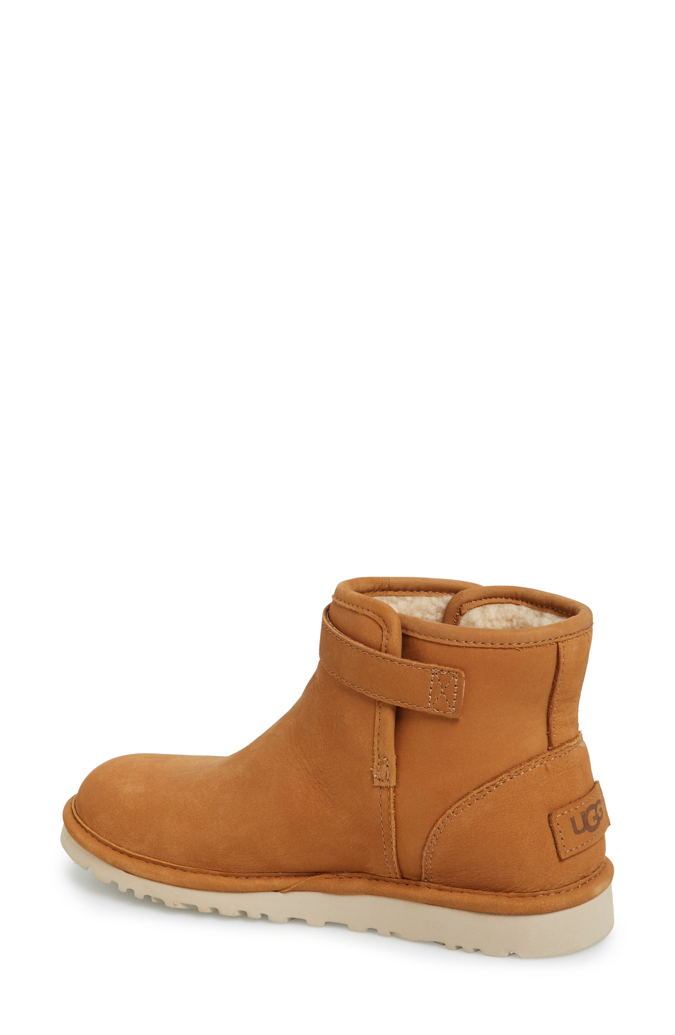 'Rella' Leather Ankle Boot,                             Alternate thumbnail 6, color,                             219