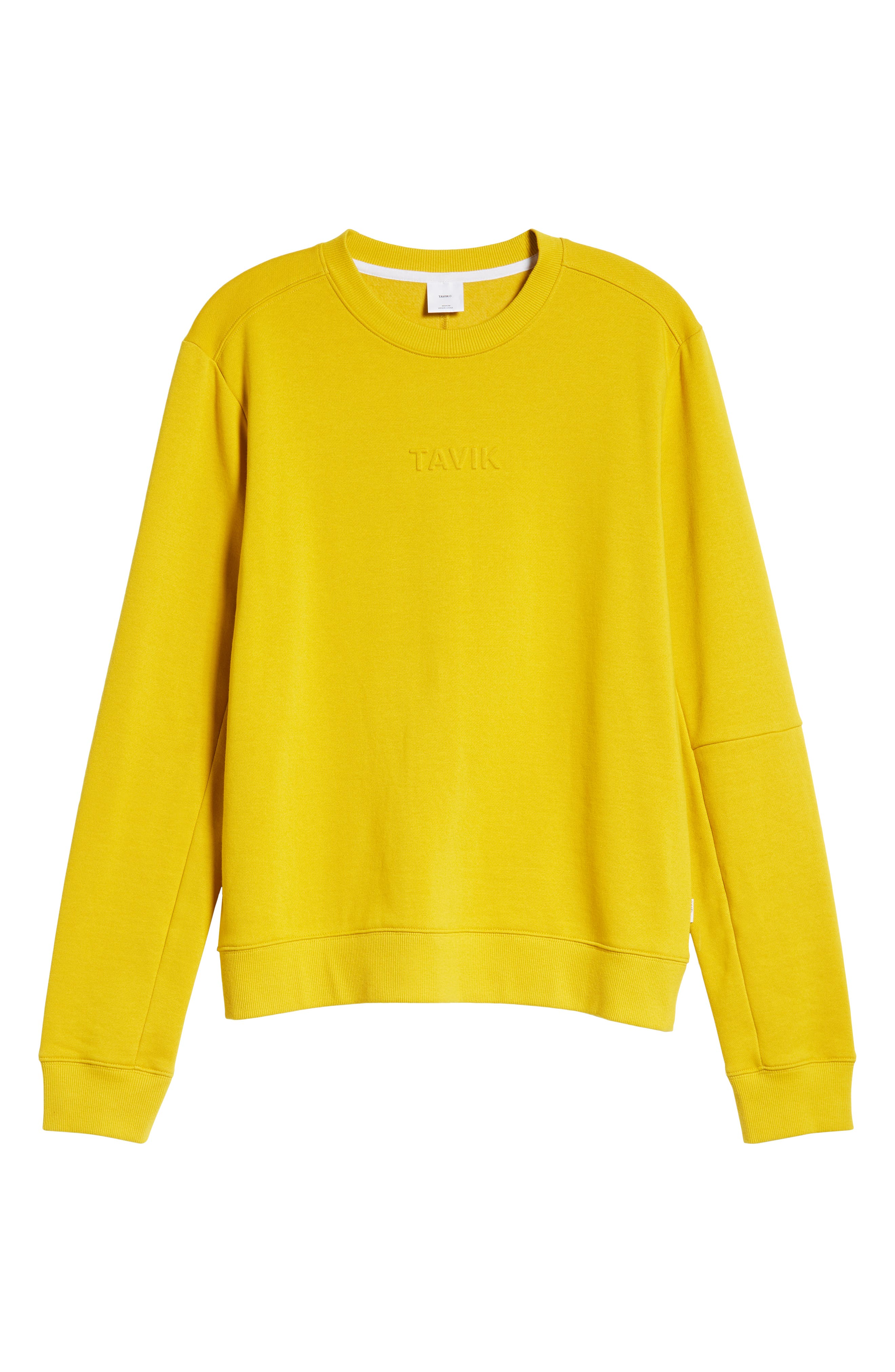 Loma Sweatshirt,                             Alternate thumbnail 6, color,                             MUSTARD YELLOW