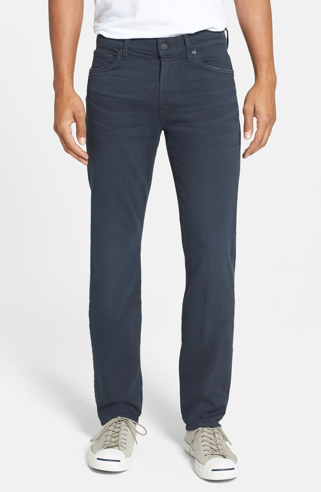 'Slimmy - Luxe Performance' Slim Fit Jeans,                             Main thumbnail 1, color,                             004