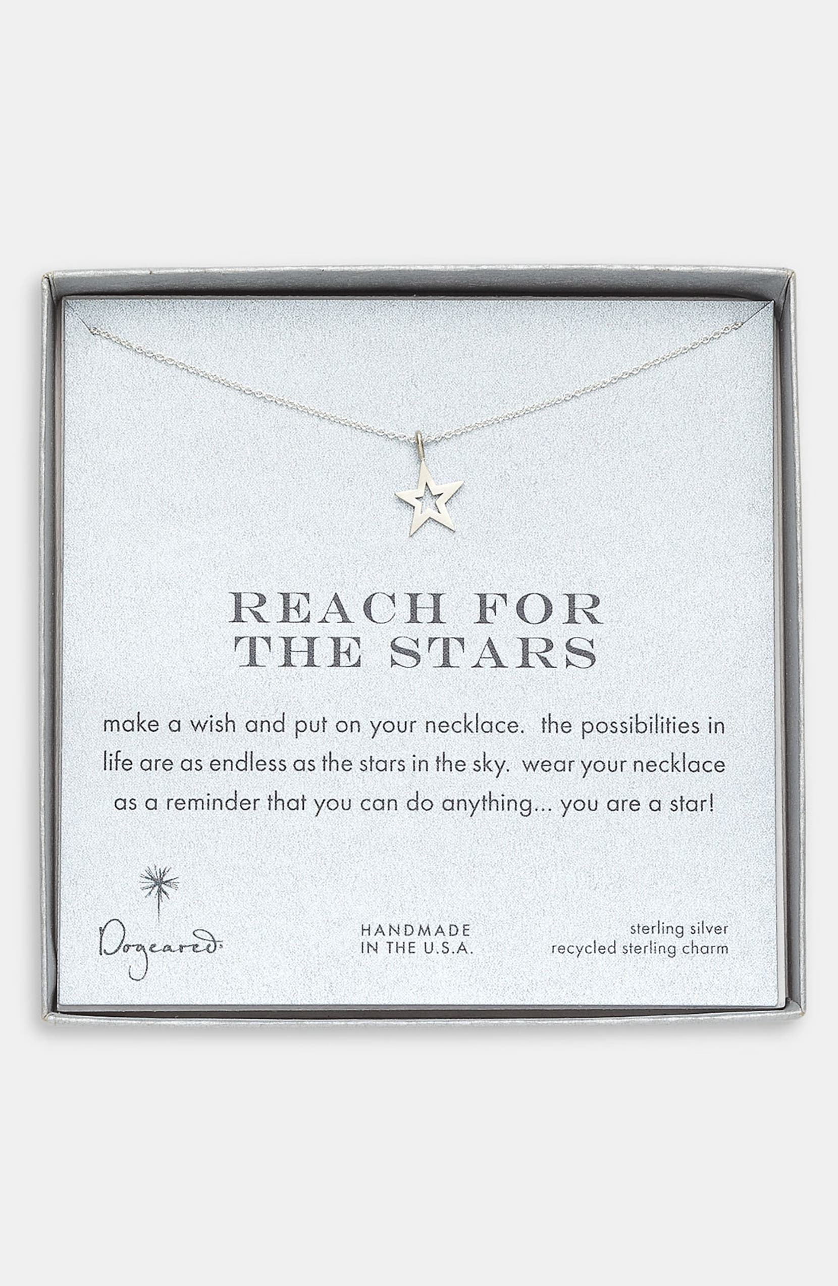 Dogeared Reach For The Stars Pendant Necklace Nordstrom