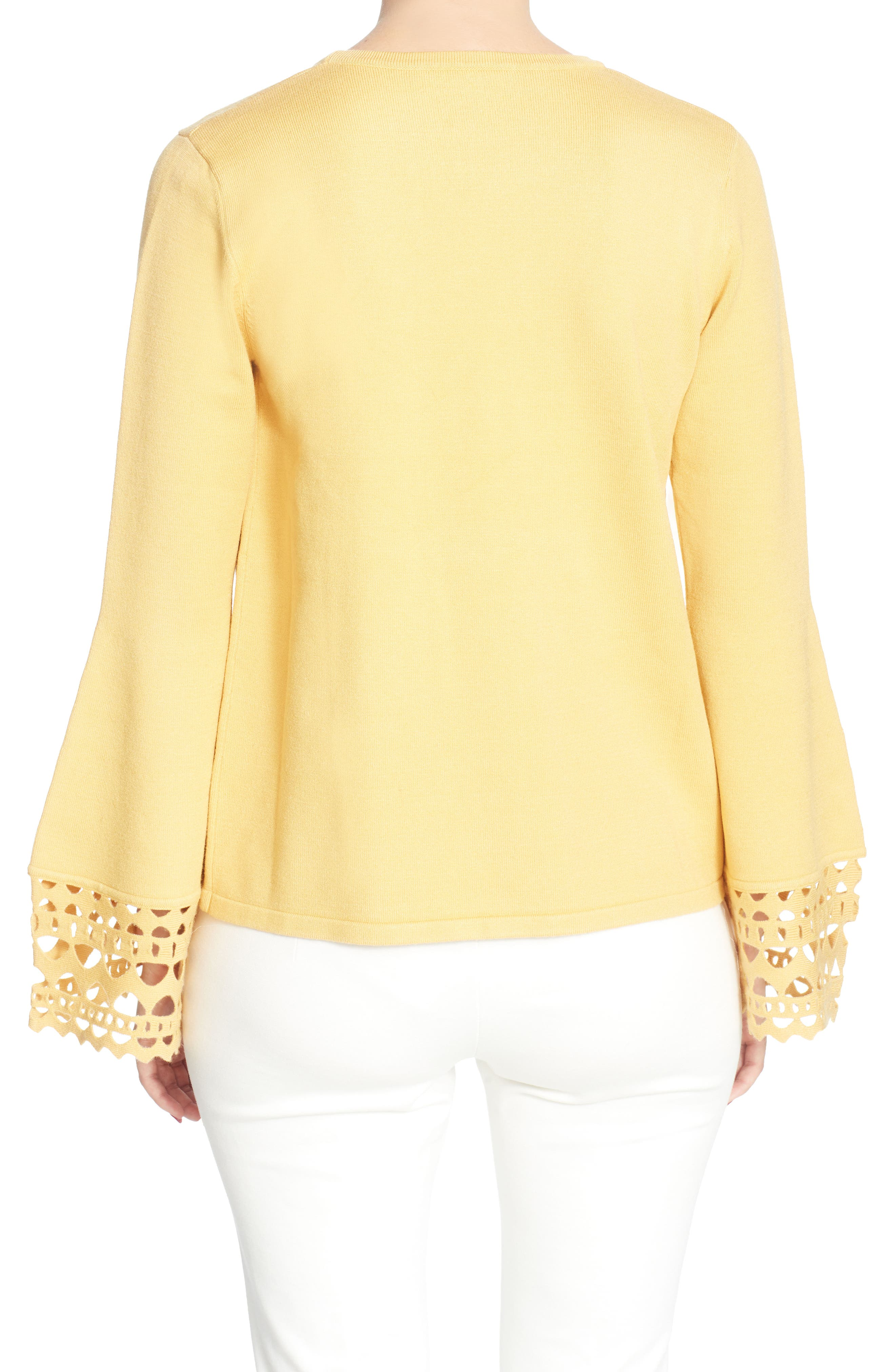 Deco Bell Sleeve Sweater,                             Alternate thumbnail 2, color,                             767