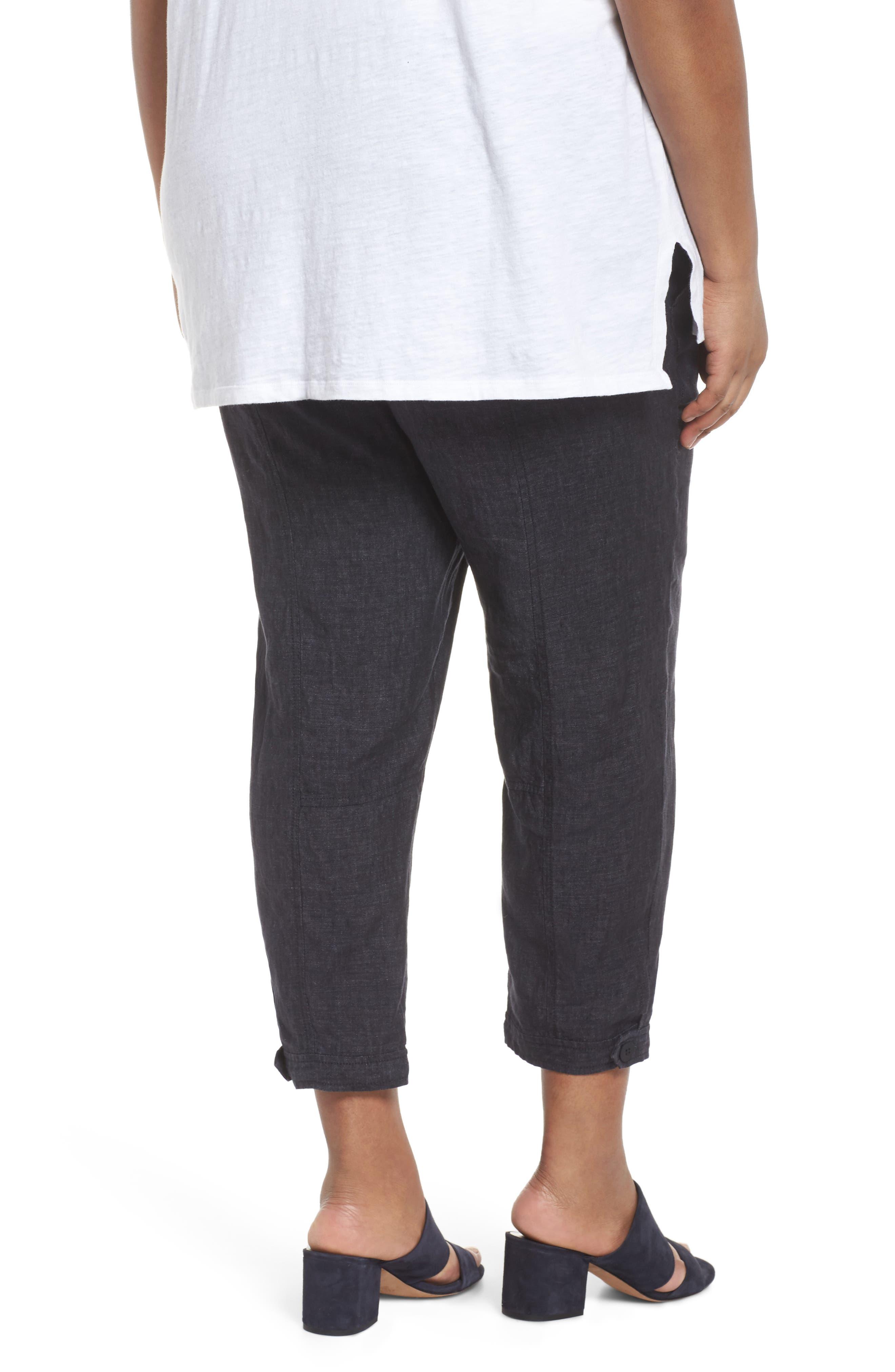 Easy Linen Ankle Pants,                             Alternate thumbnail 2, color,                             480