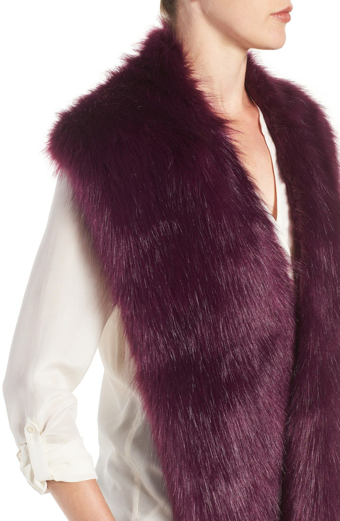 Faux Mink Stole,                             Alternate thumbnail 20, color,
