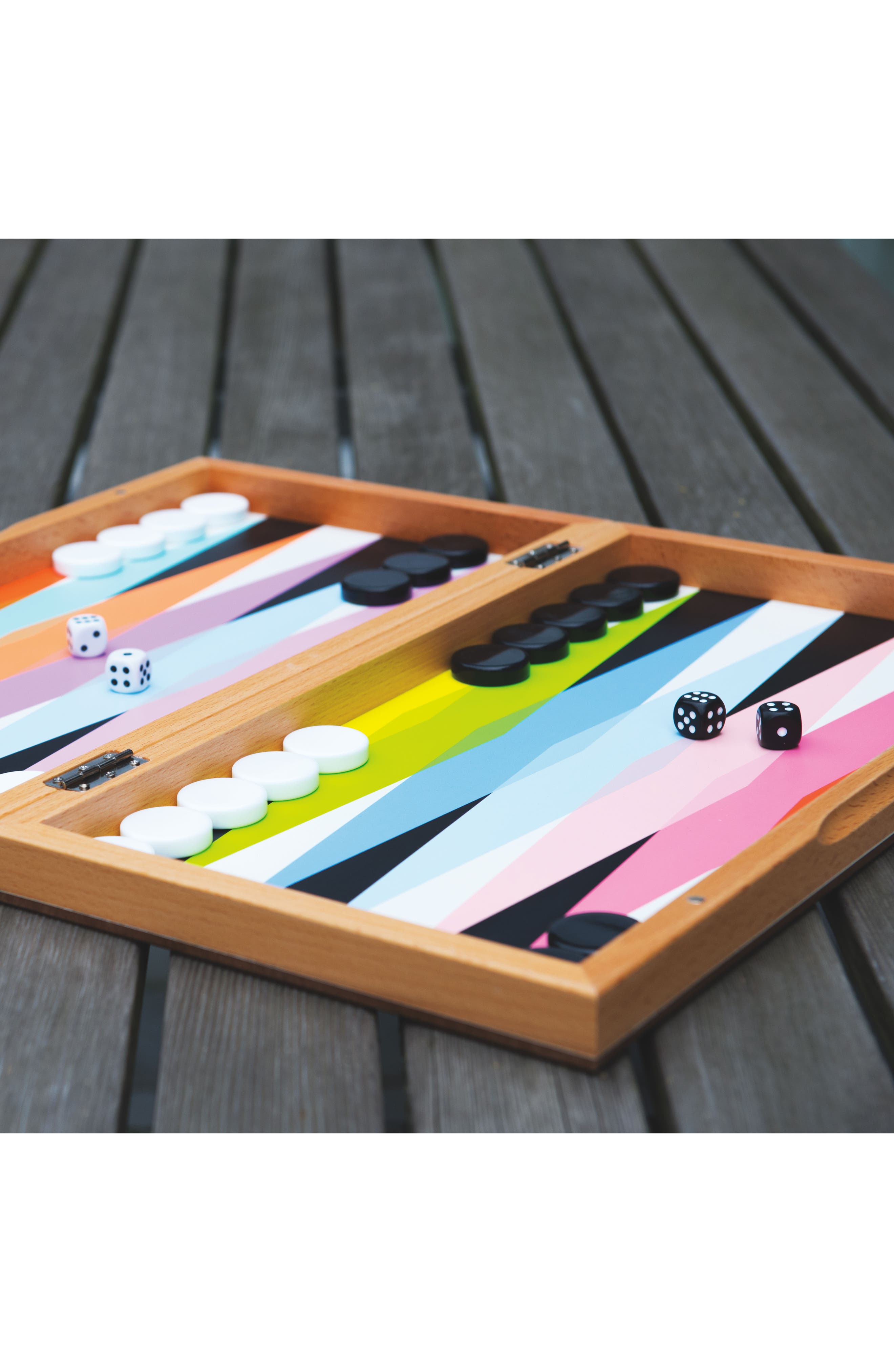 Colorful Backgammon Set,                             Alternate thumbnail 5, color,                             960