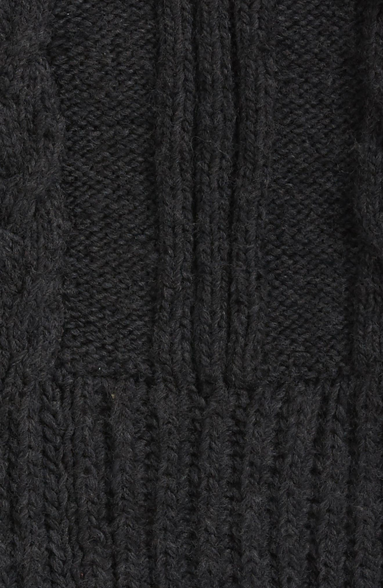 Oversize Cable Knit Wool Infinity Scarf,                             Alternate thumbnail 12, color,