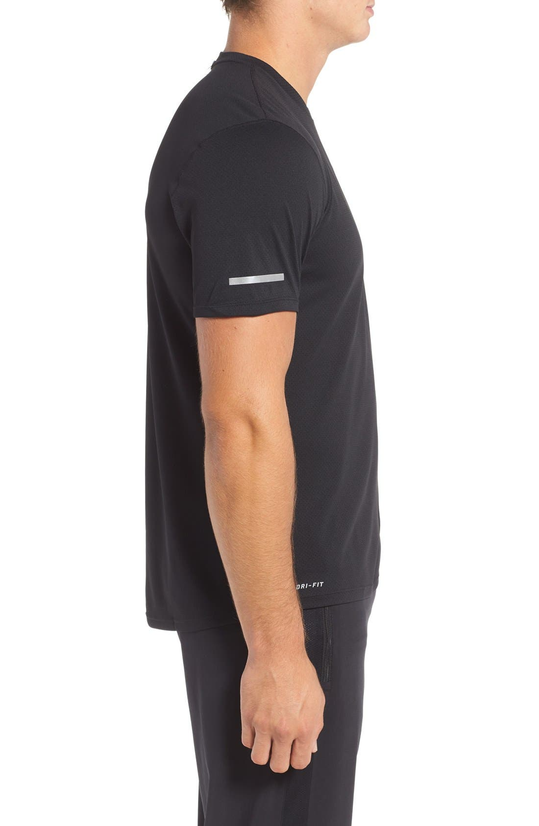 'Contour' Mesh Dri-FIT Running T-Shirt,                             Alternate thumbnail 22, color,