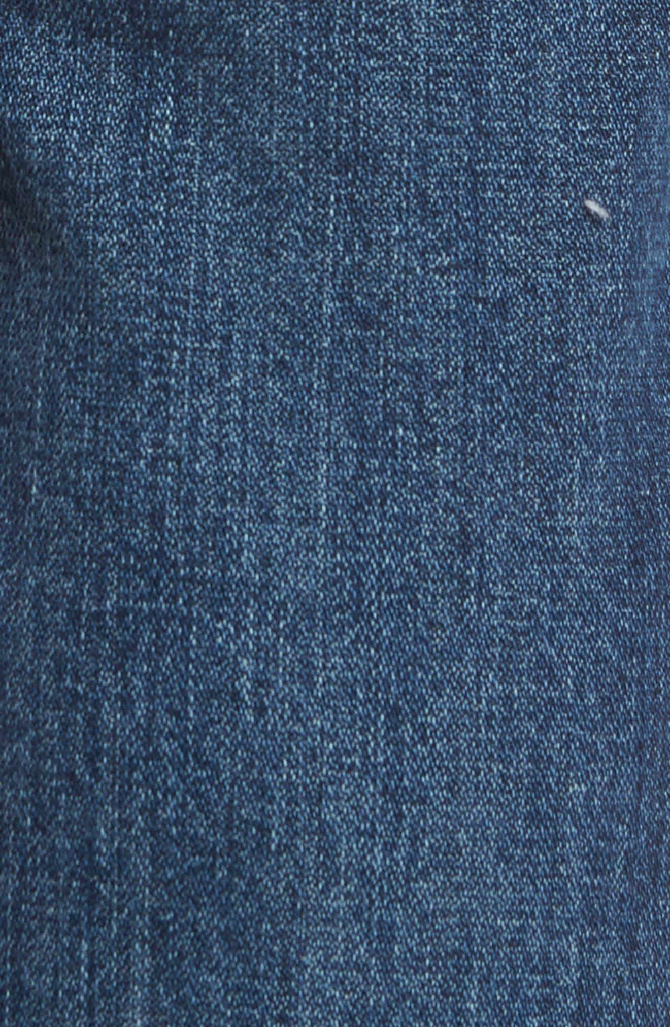 Greensboro Straight Leg Jeans,                             Alternate thumbnail 5, color,                             GOOD THING