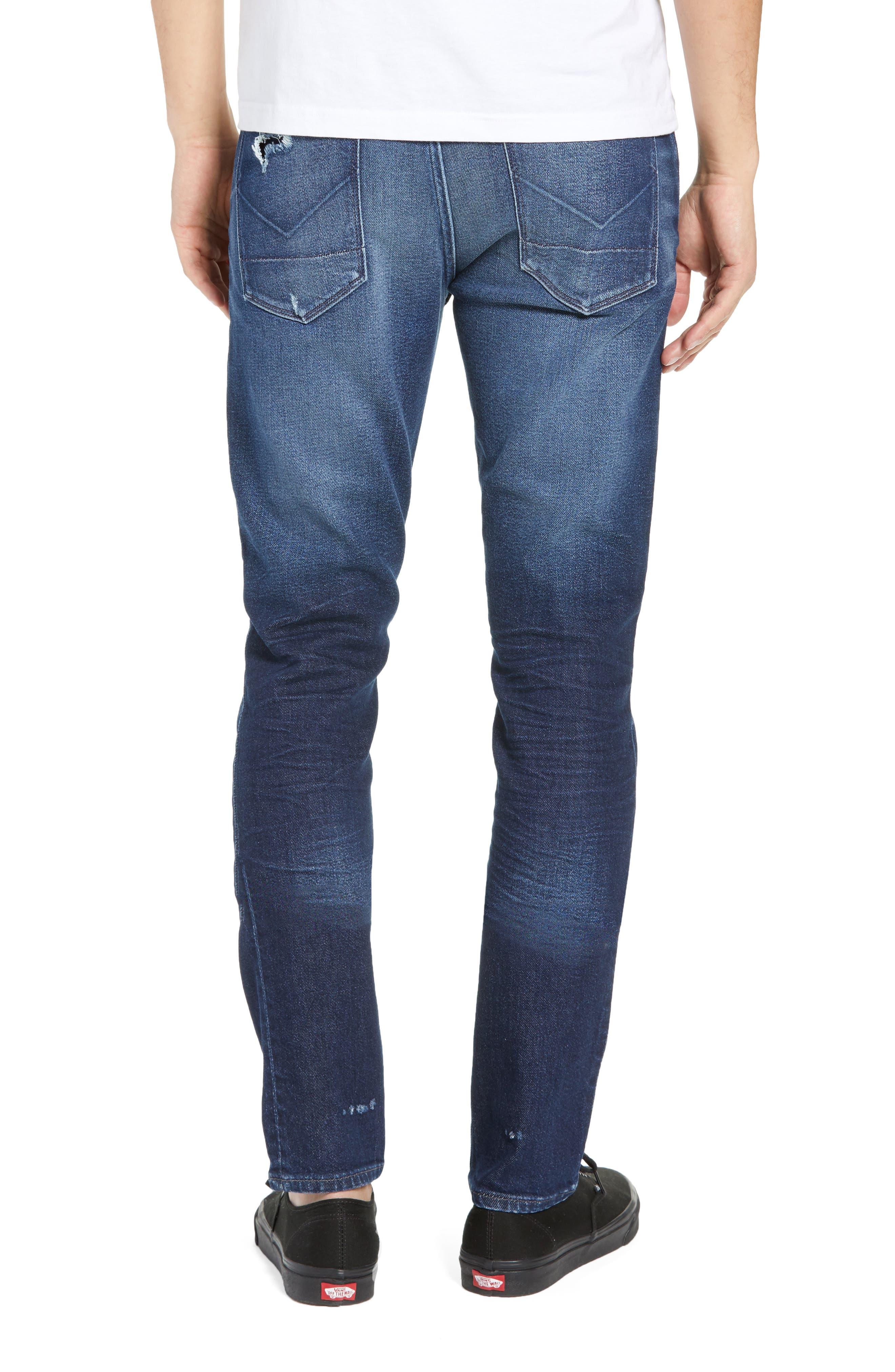 Axl Skinny Fit Jeans,                             Alternate thumbnail 2, color,                             BENNETT
