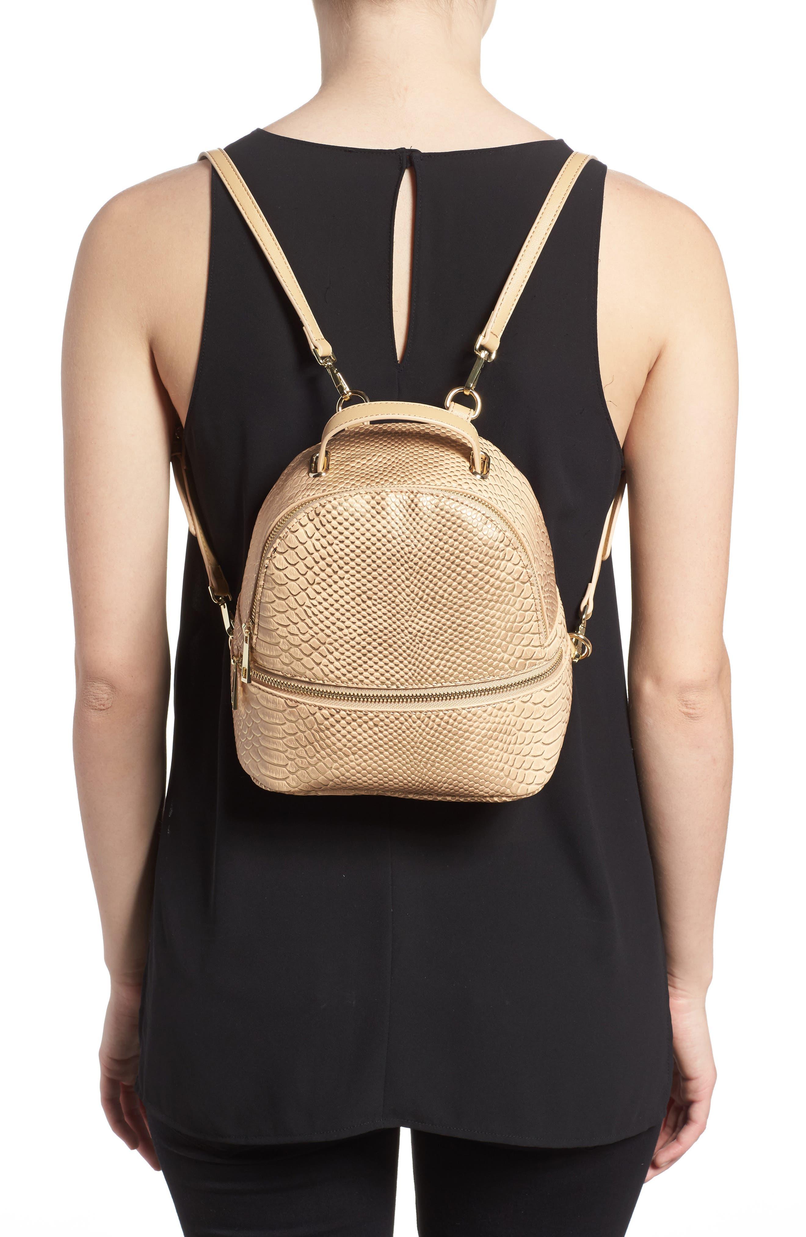 Colette Faux Leather Backpack,                             Alternate thumbnail 2, color,                             250