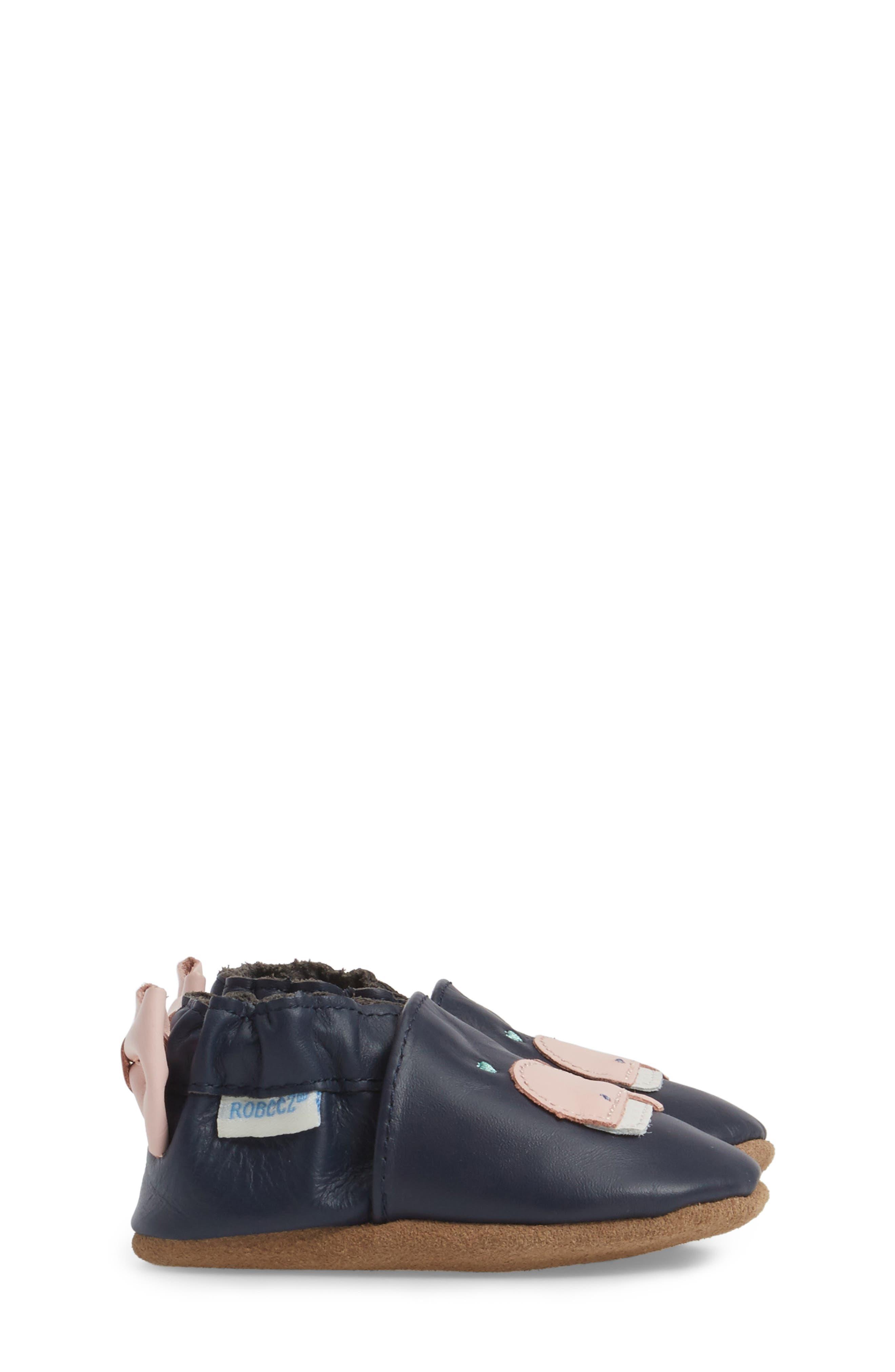 Winnie the Whale Crib Shoe,                             Alternate thumbnail 3, color,                             410