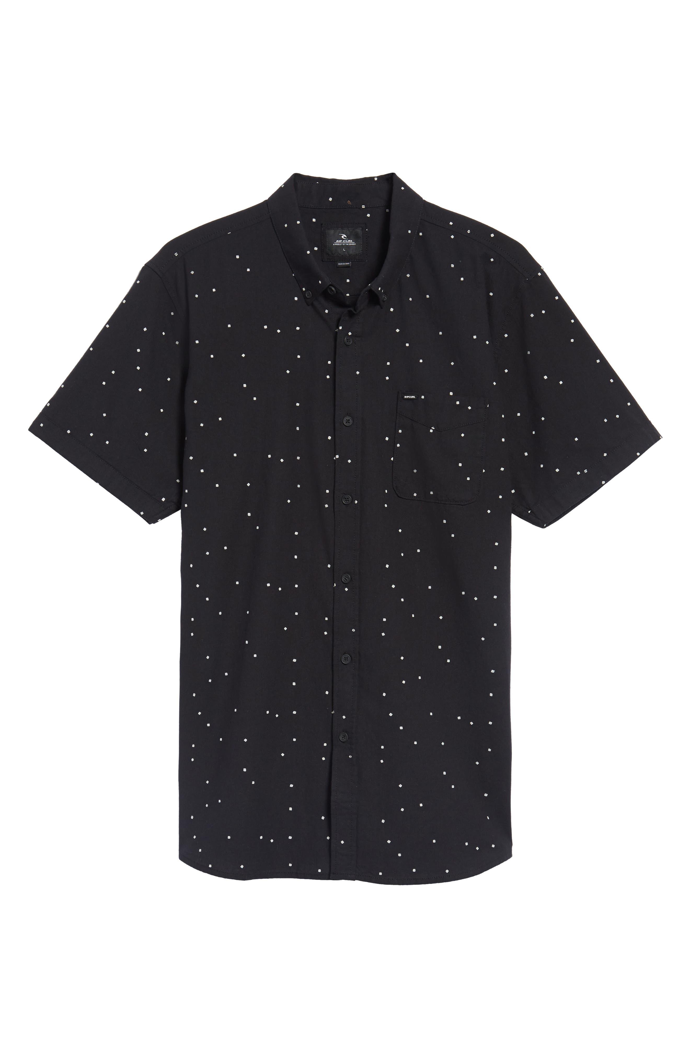 Mixter Short Sleeve Shirt,                             Alternate thumbnail 6, color,                             001