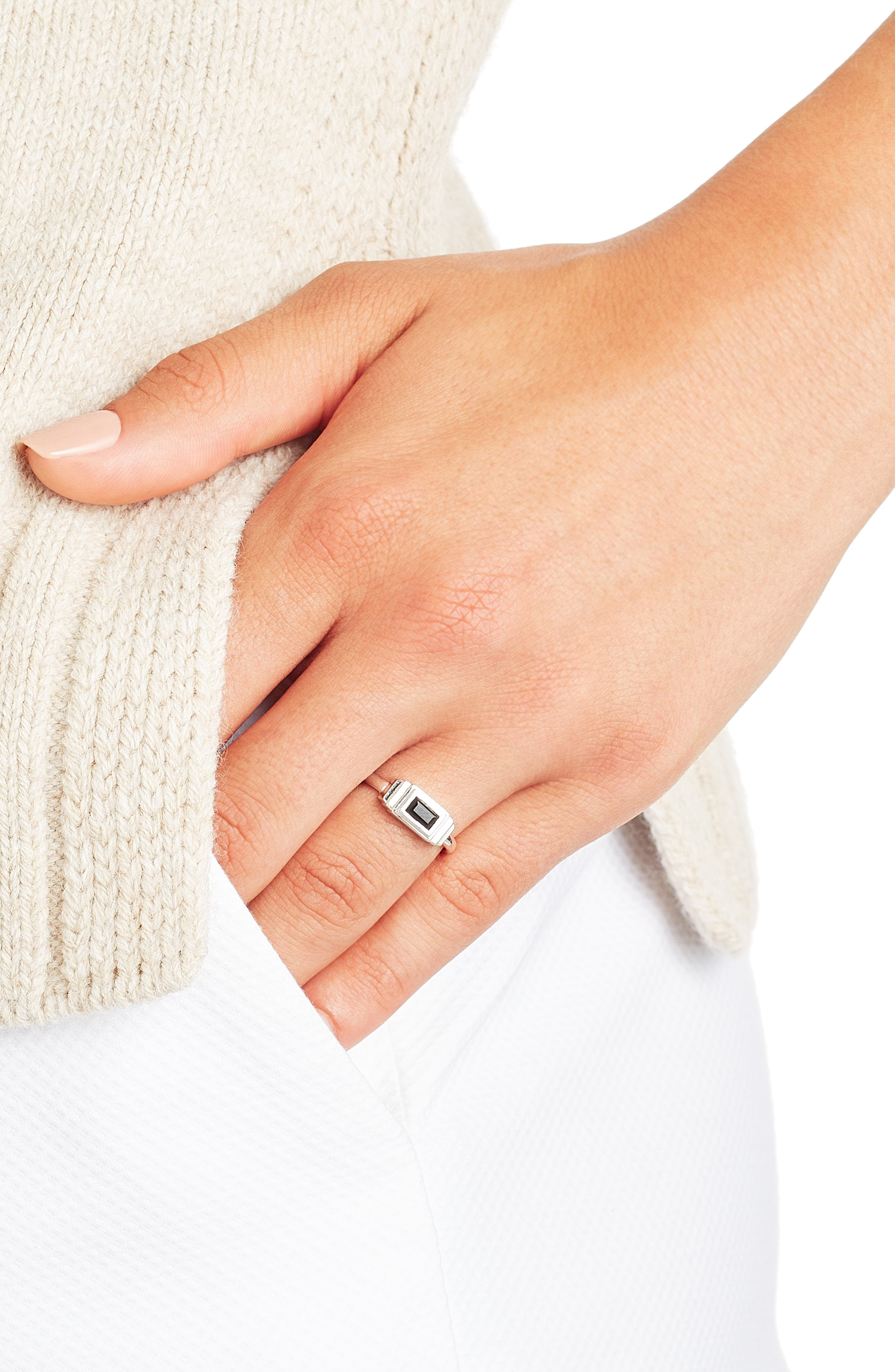 Baja Deco Semiprecious Stone Ring,                             Alternate thumbnail 2, color,                             001