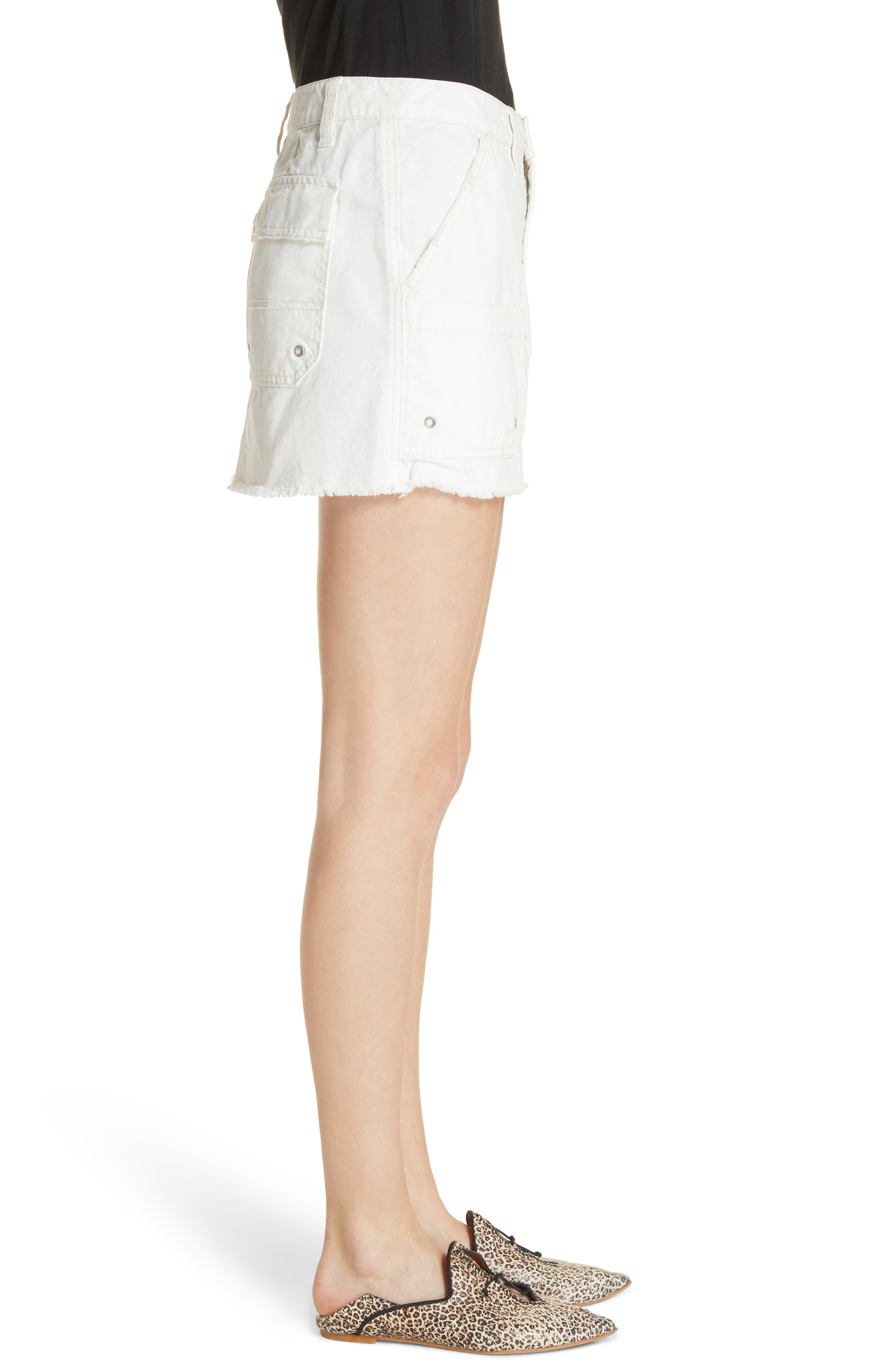 Canvas Miniskirt,                             Alternate thumbnail 9, color,