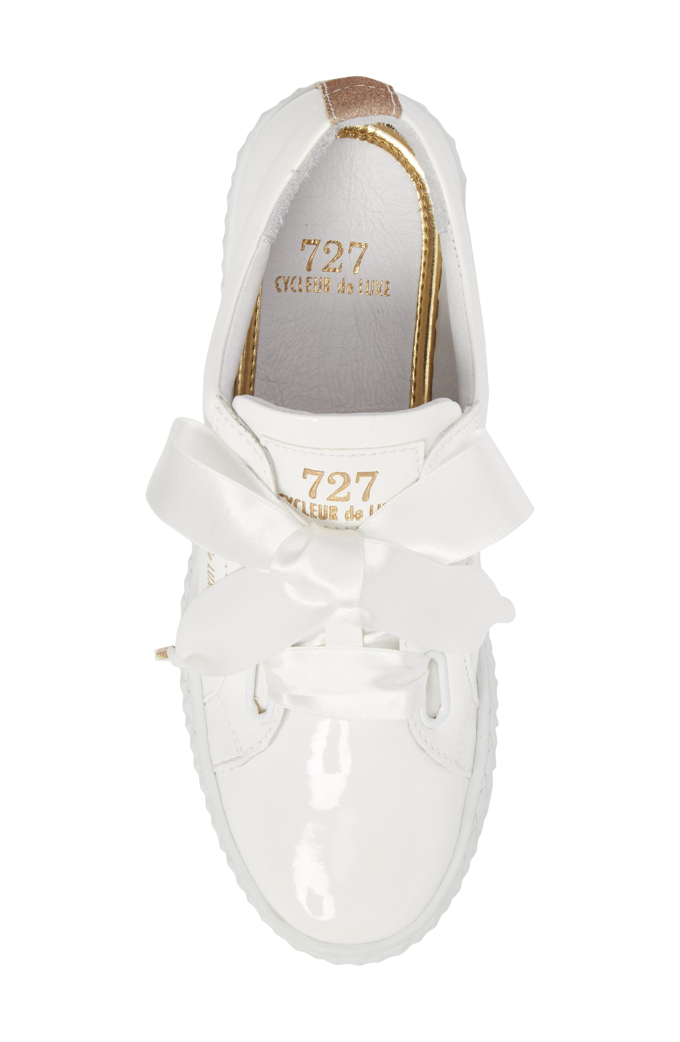 Acton Sneaker,                             Alternate thumbnail 5, color,                             WHITE PATENT