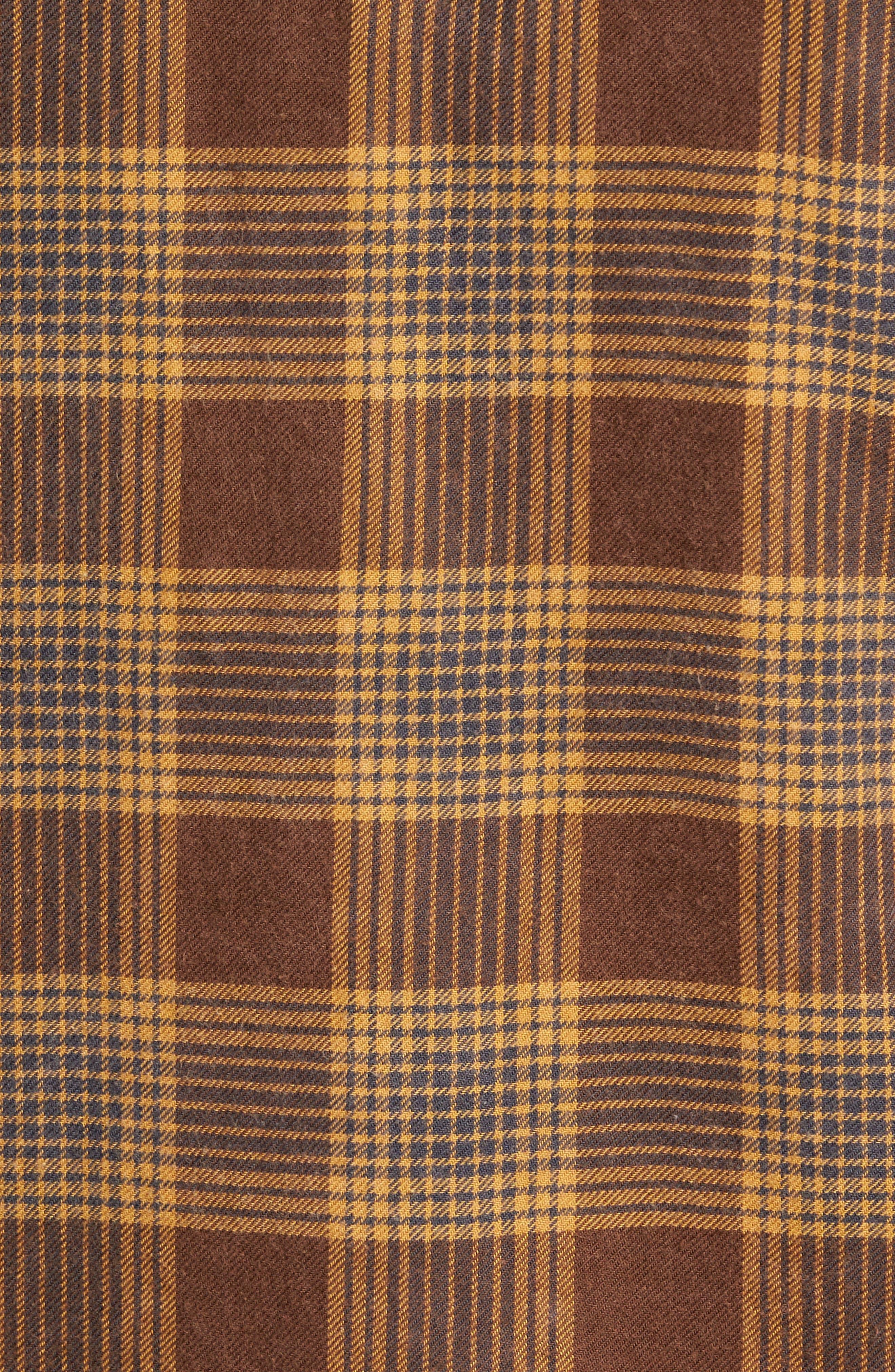 Freemont Flannel Shirt,                             Alternate thumbnail 5, color,                             205