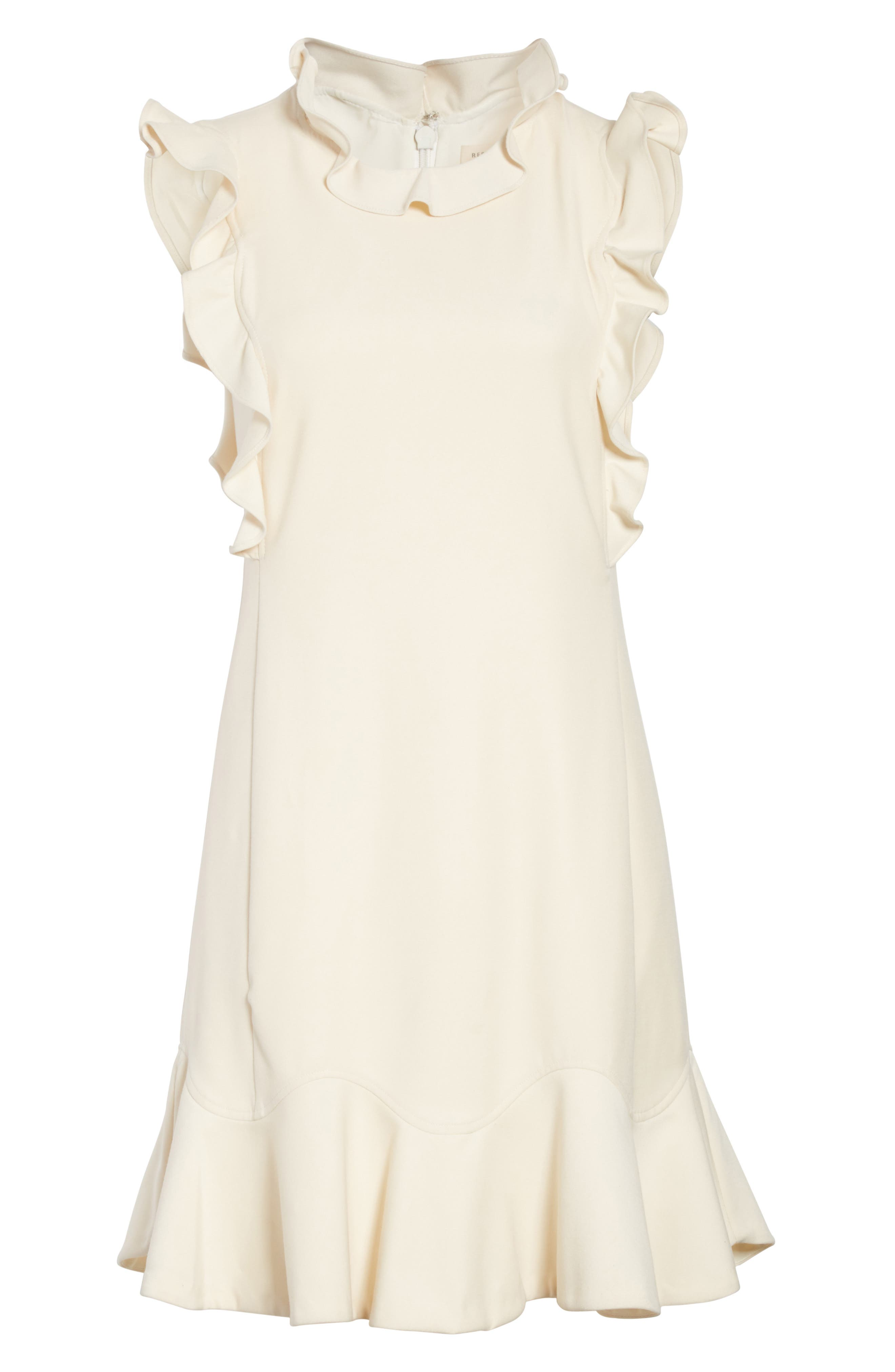 Ruffle Trim Suit Dress,                             Alternate thumbnail 6, color,                             907