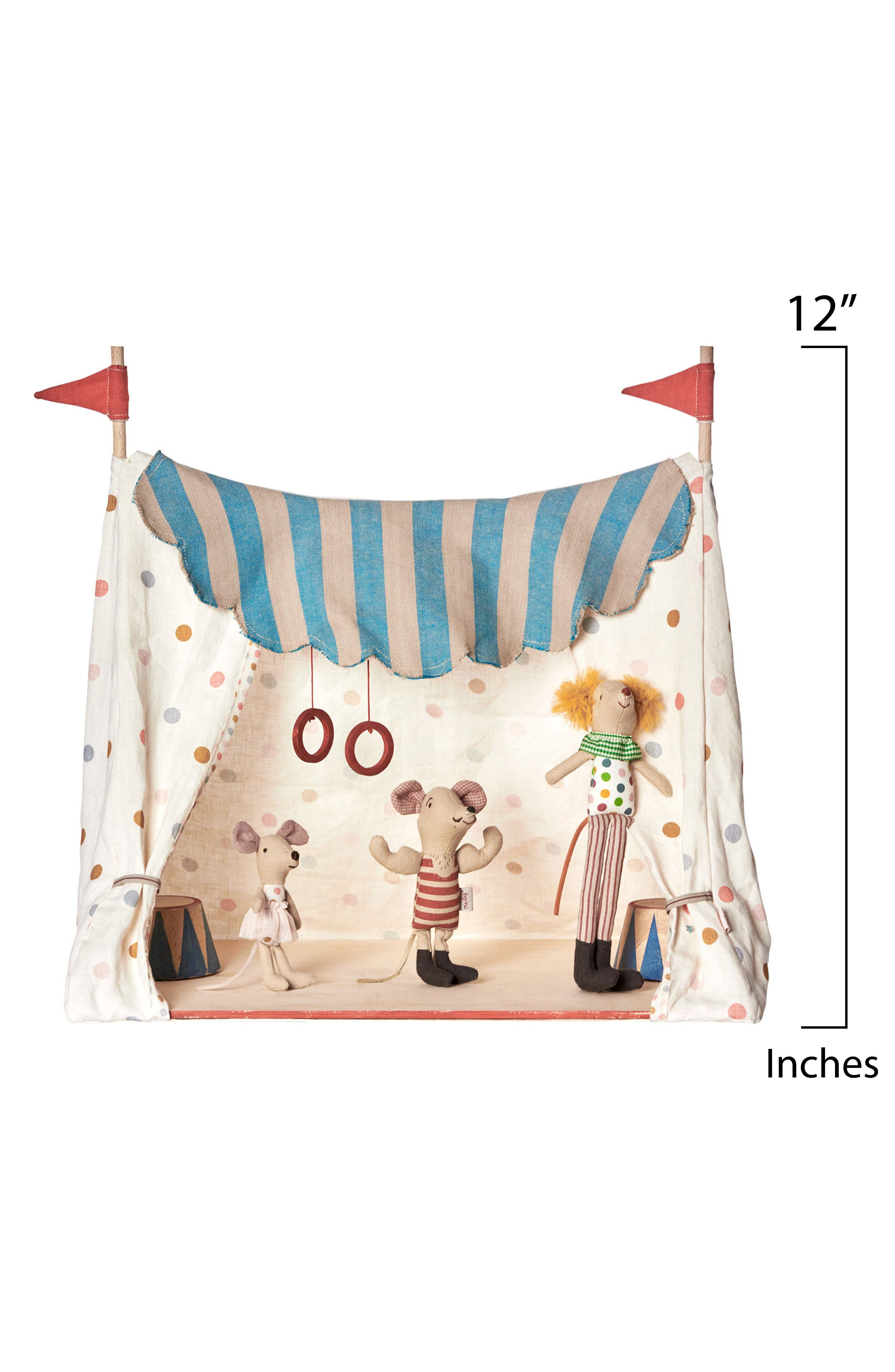 Circus Mice in a Tent,                             Alternate thumbnail 2, color,                             600