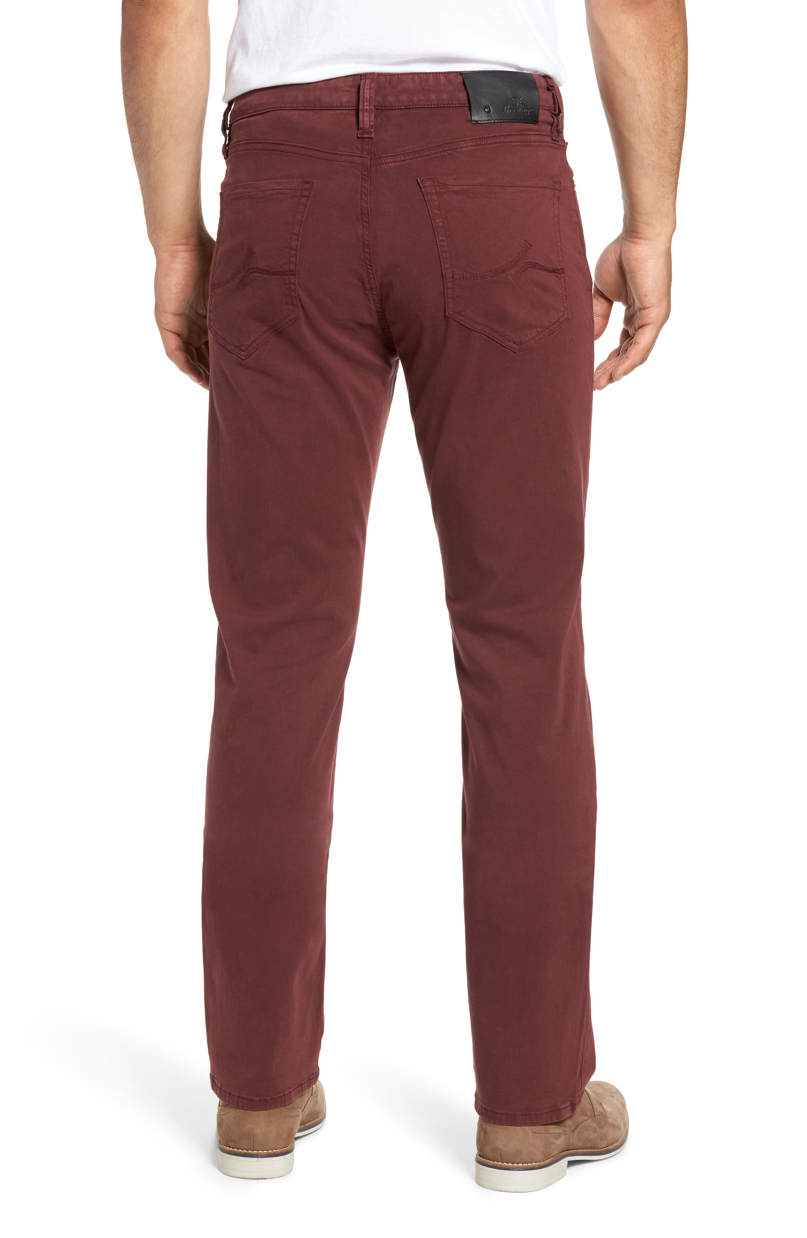 Charisma Relaxed Fit Pants,                             Alternate thumbnail 2, color,                             BORDEAUX TWILL