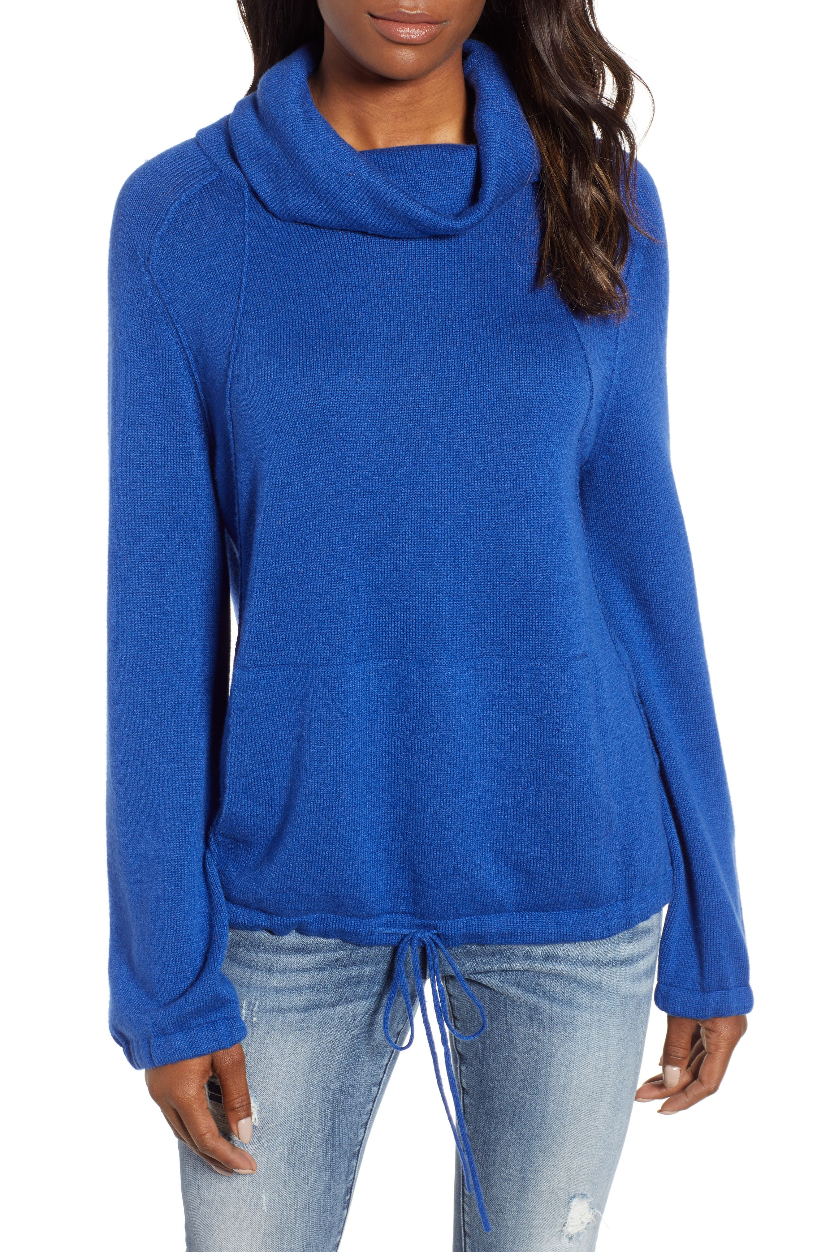 CASLON<SUP>®</SUP> Cowl Neck Sweater, Main, color, 401