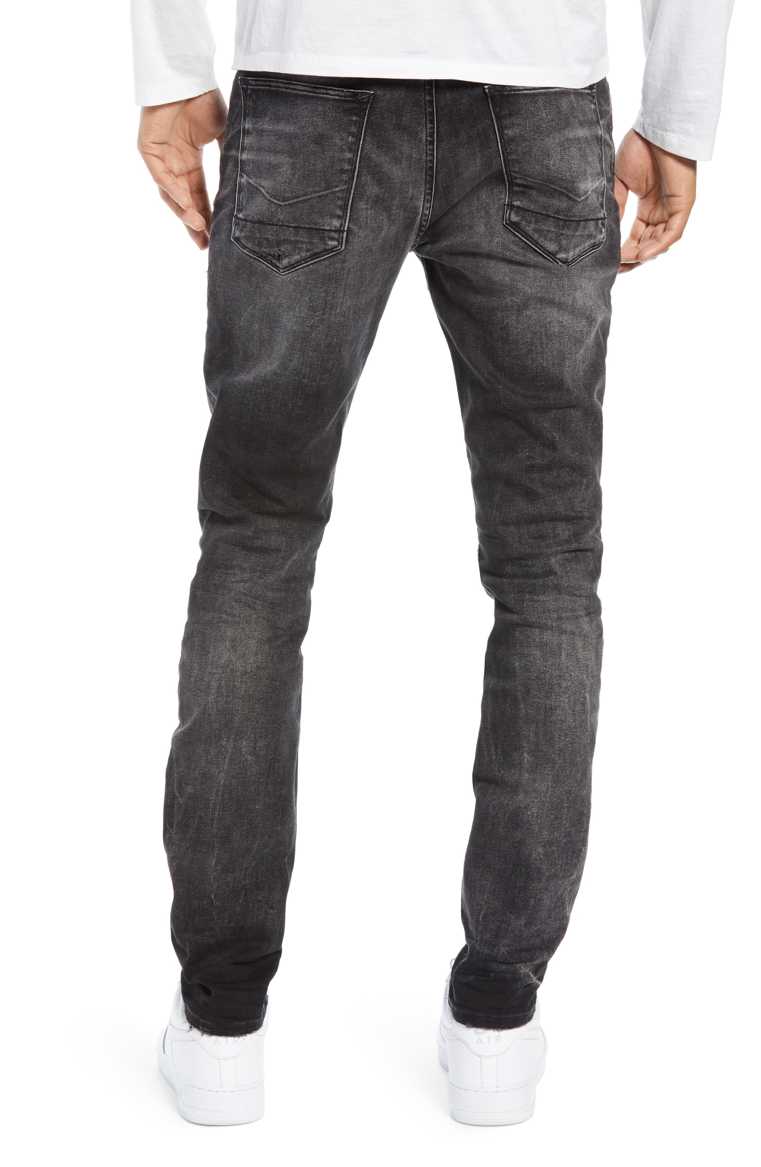 HUDSON JEANS,                             Axl Skinny Fit Jeans,                             Alternate thumbnail 2, color,                             DELUXE