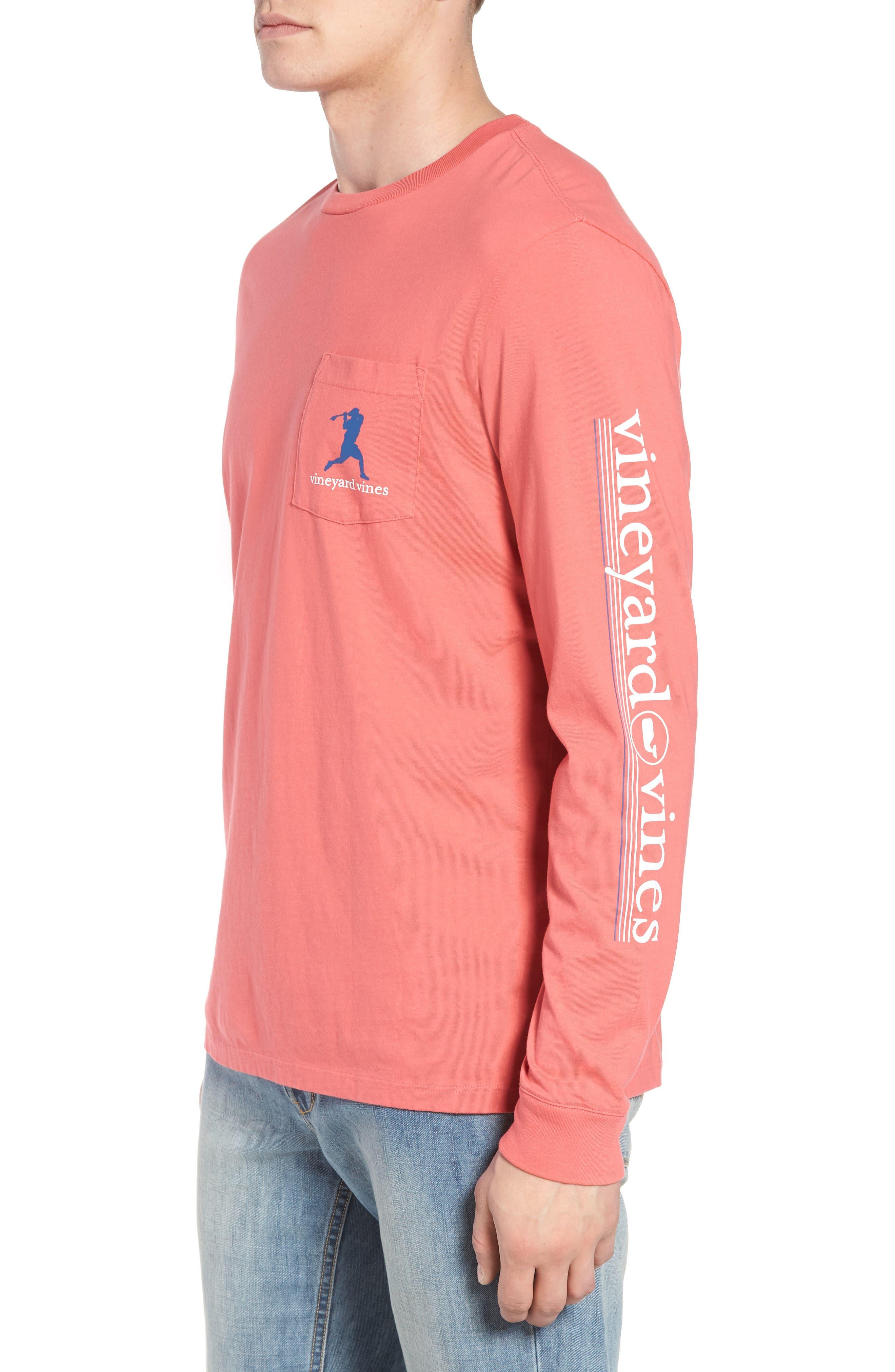 Wind Up Shot Pocket T-Shirt,                             Alternate thumbnail 3, color,