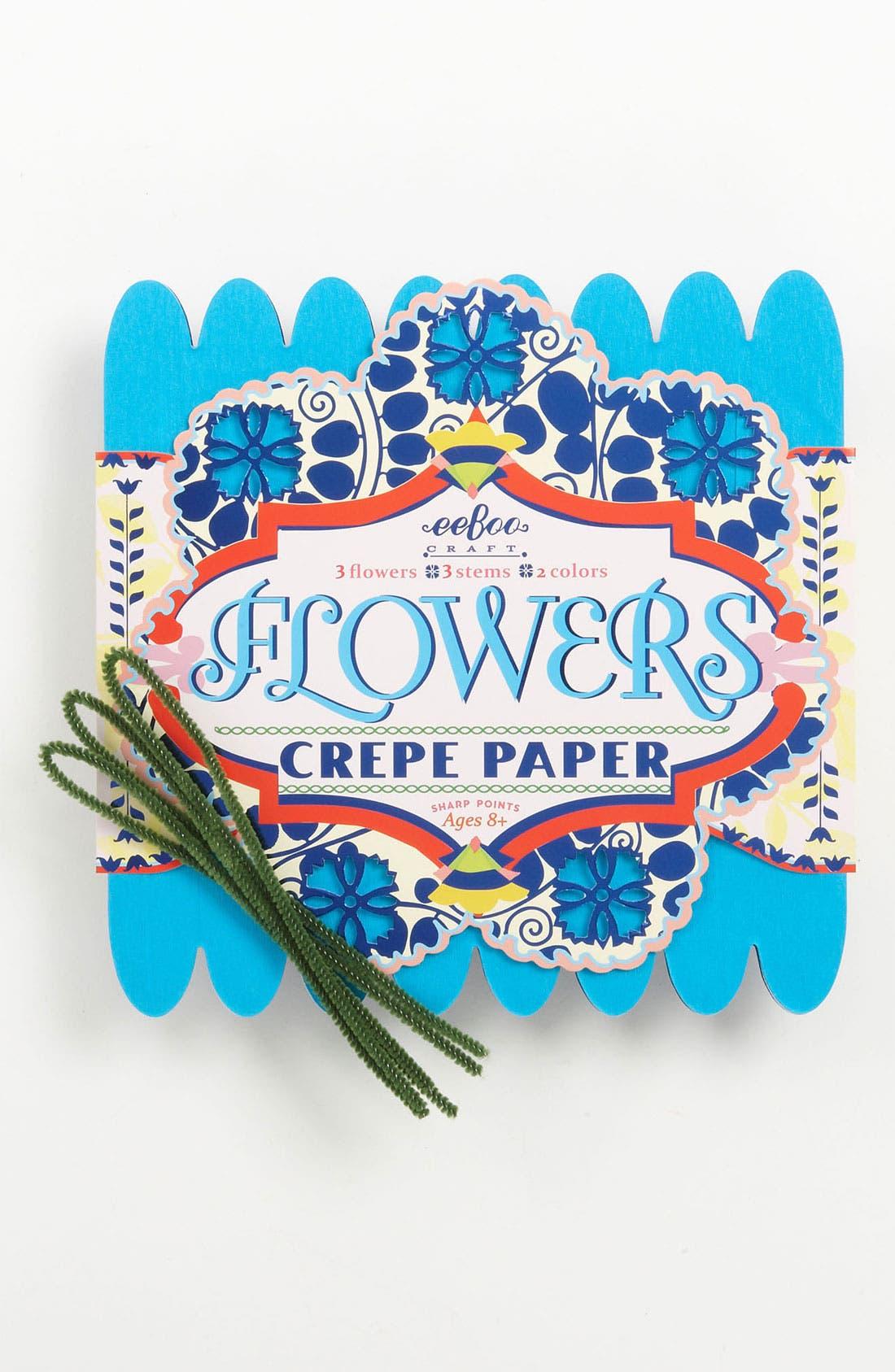 Crepe Paper Flower Making Kit, Main, color, 400