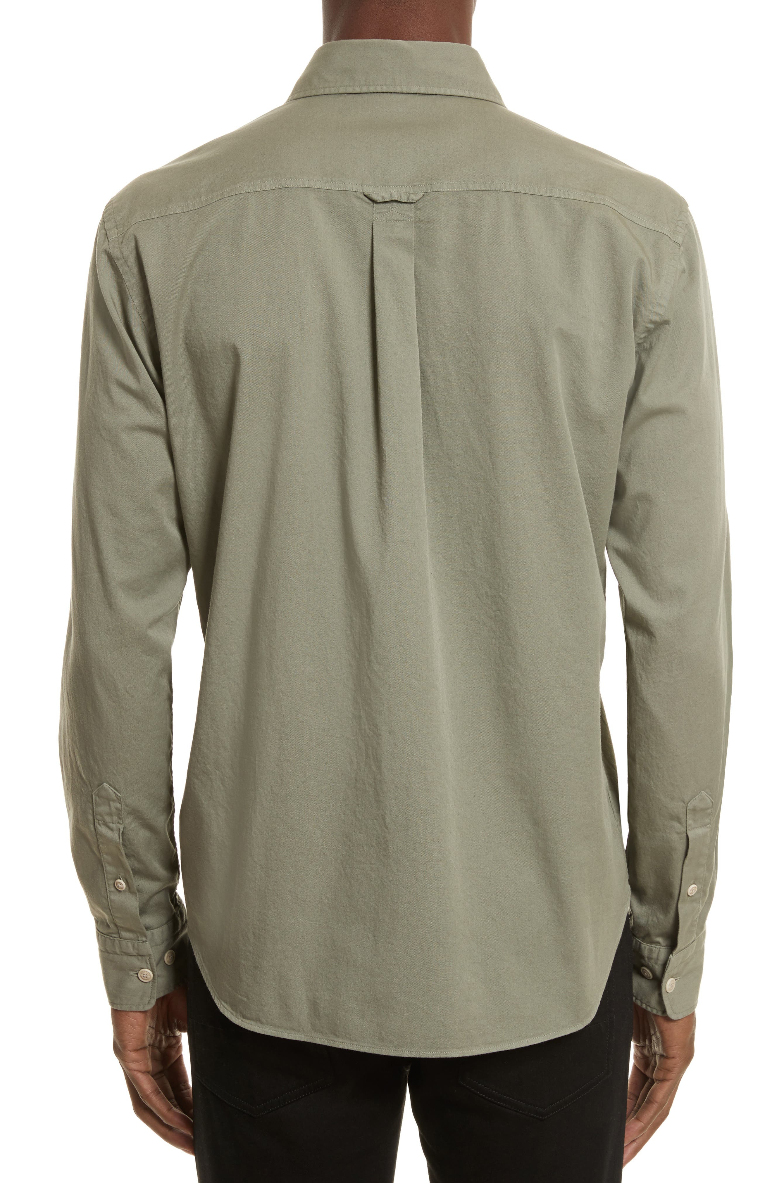 Steadway Extra Slim Fit Sport Shirt,                             Alternate thumbnail 6, color,