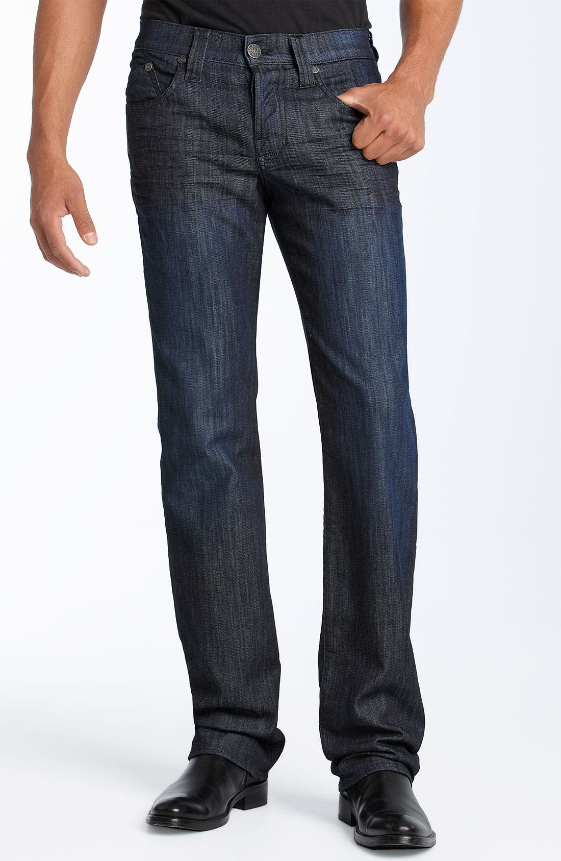 ROCK & REPUBLIC,                             'Neil' Relaxed Straight Leg Jeans,                             Alternate thumbnail 2, color,                             490