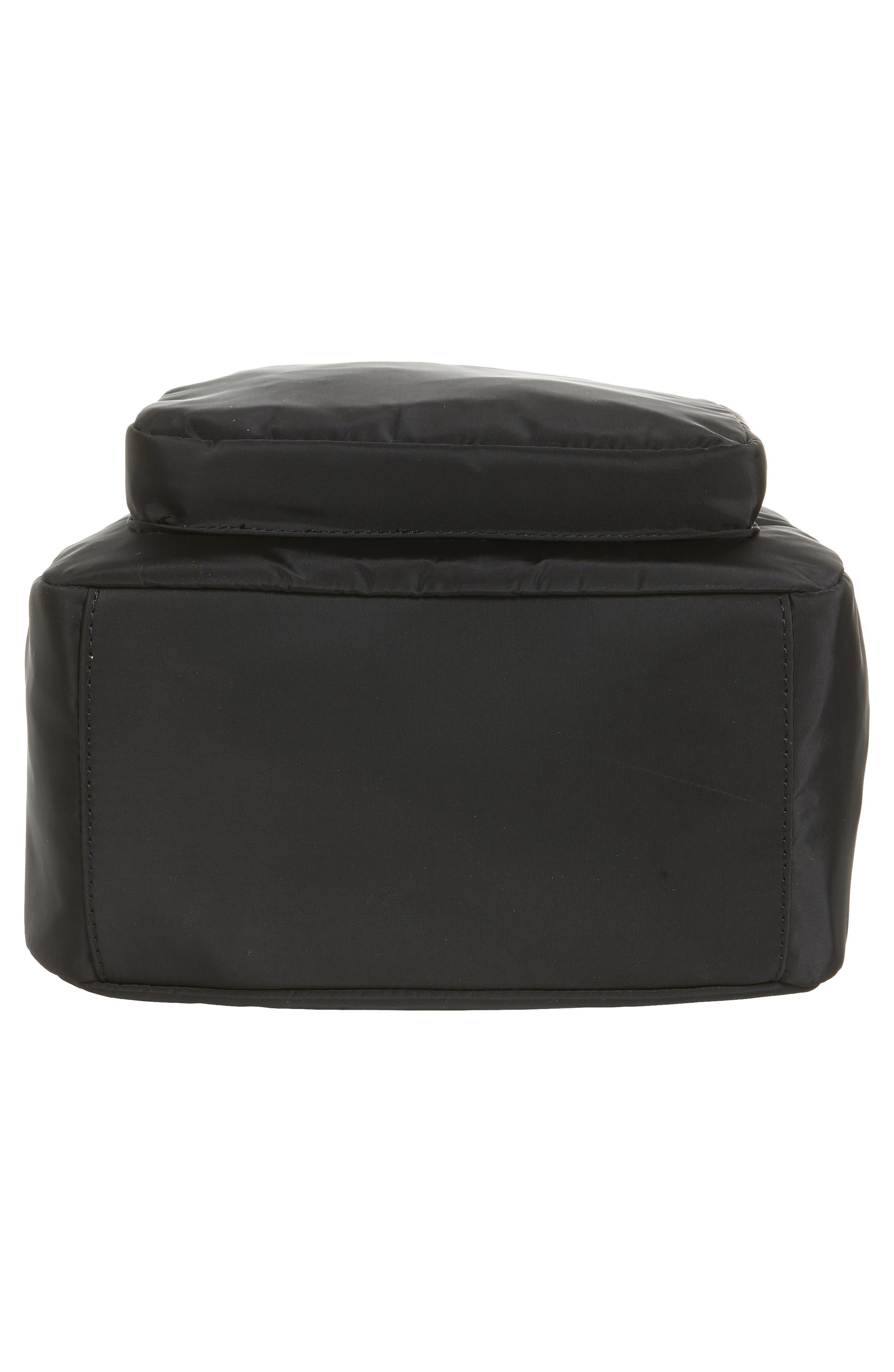Nylon Backpack,                             Alternate thumbnail 6, color,                             001