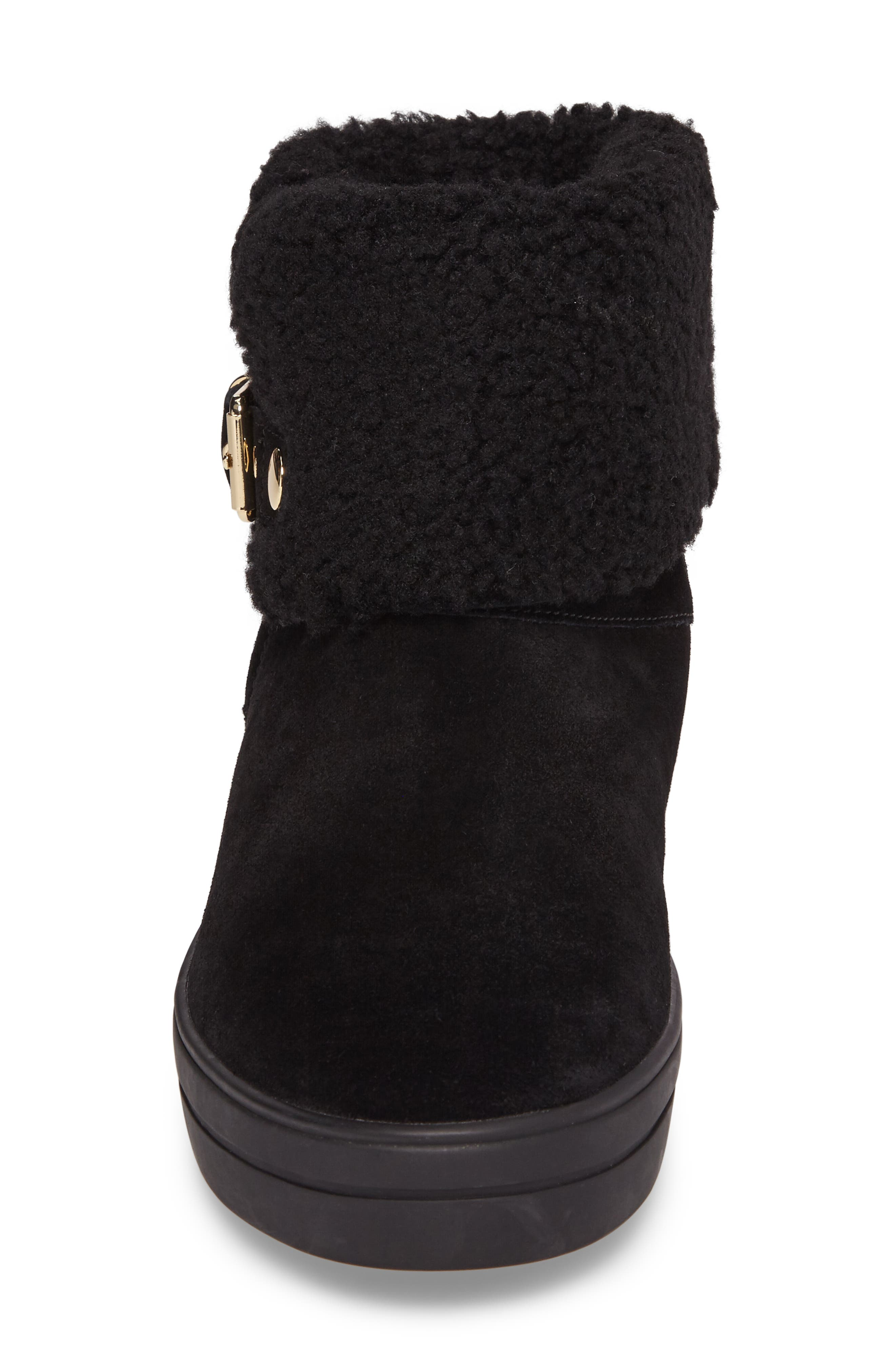 Genuine Shearling Boot,                             Alternate thumbnail 7, color,