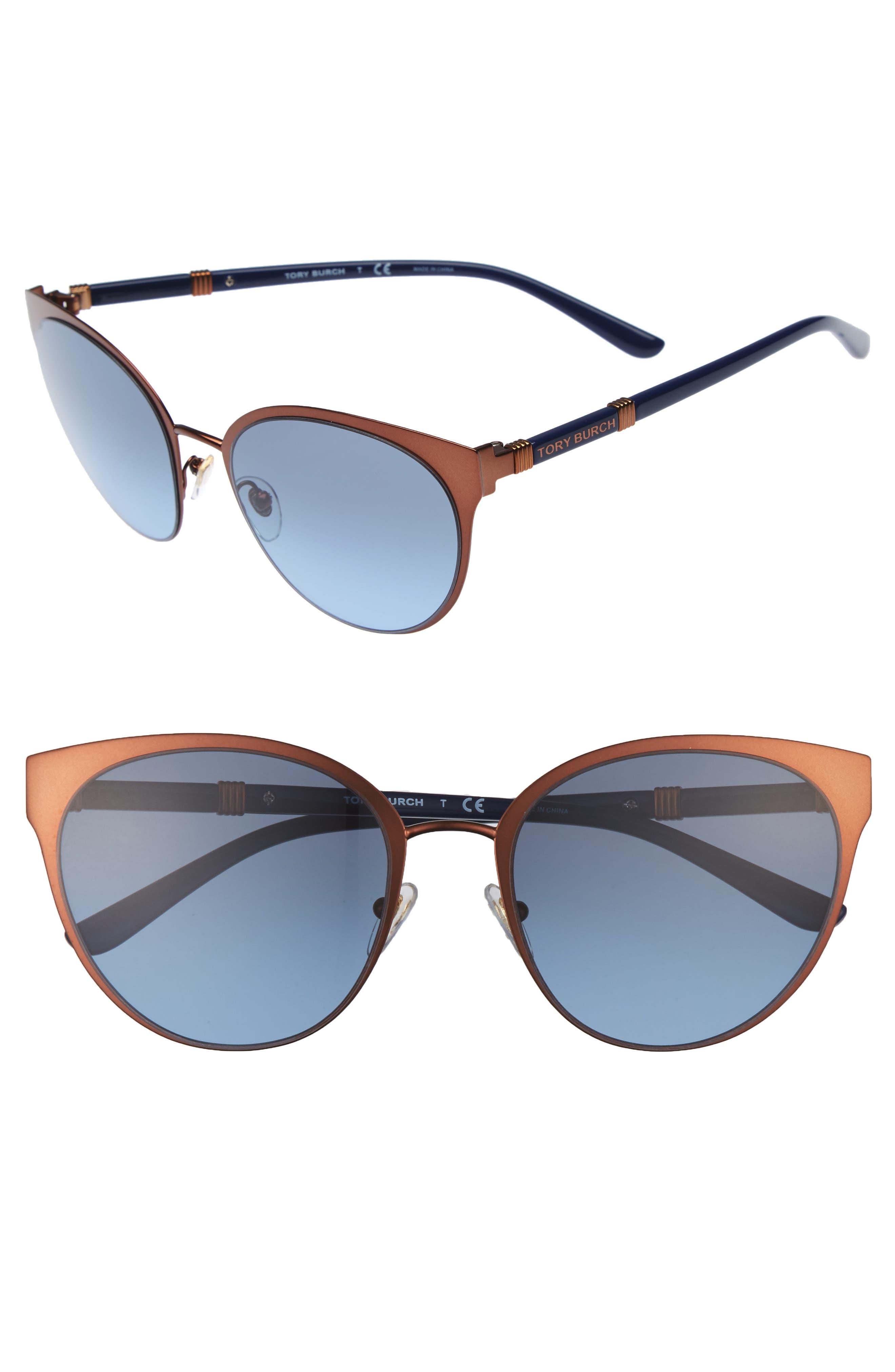 55mm Cat Eye Sunglasses,                             Main thumbnail 1, color,                             220
