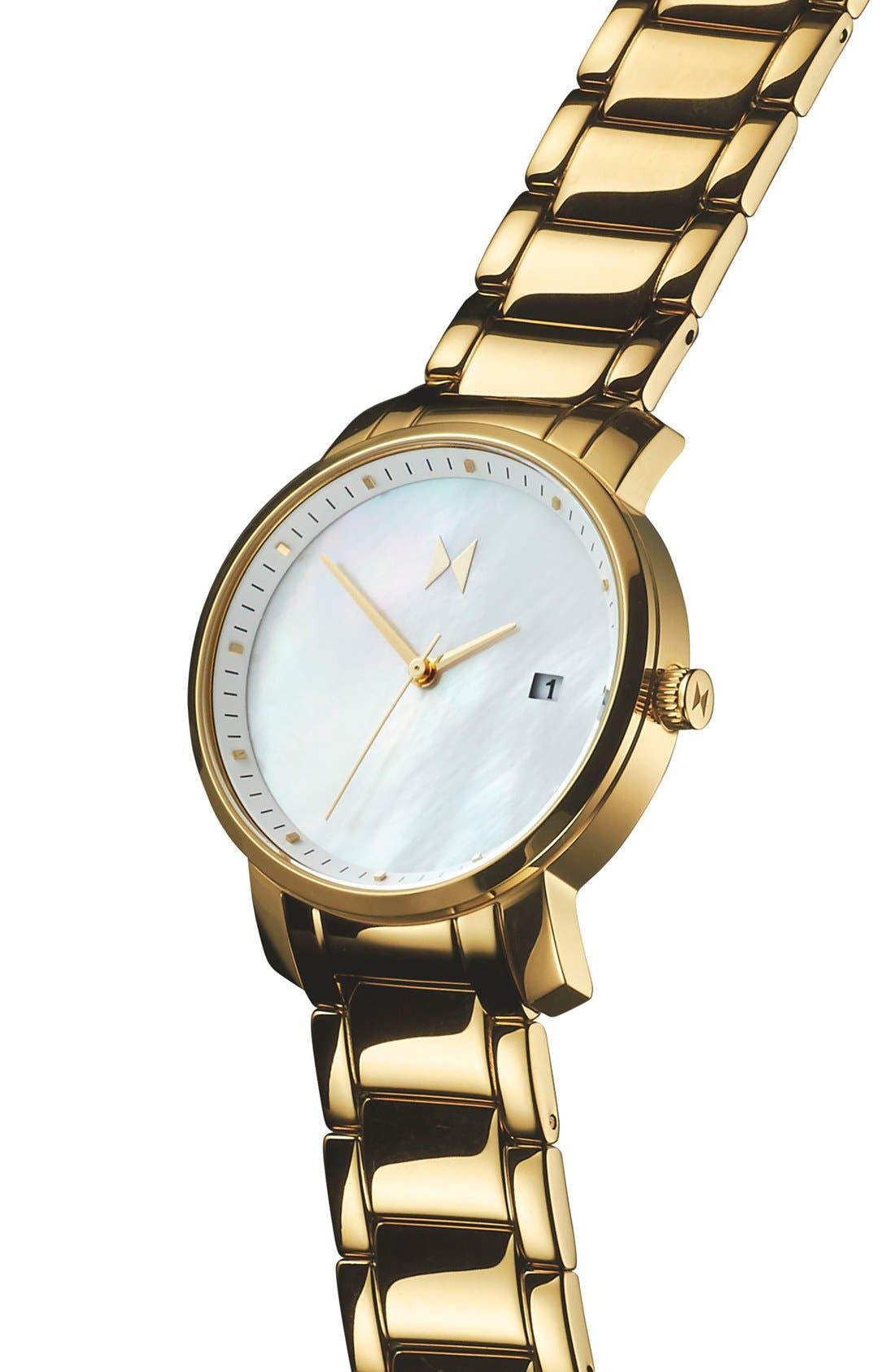Bracelet Watch, 38mm,                             Alternate thumbnail 4, color,                             710