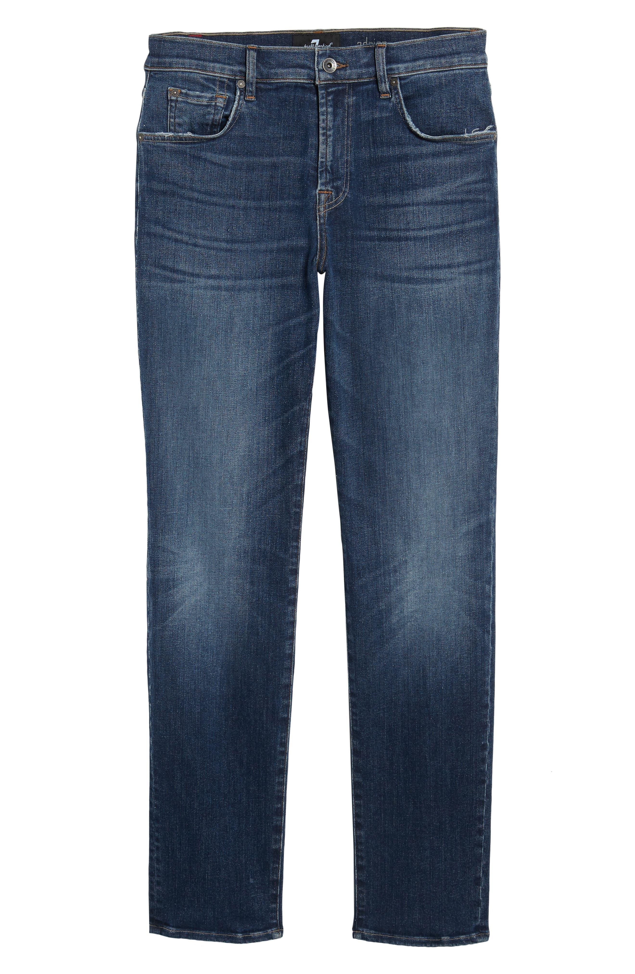 Adrien Slim Fit Jeans,                             Alternate thumbnail 6, color,                             402