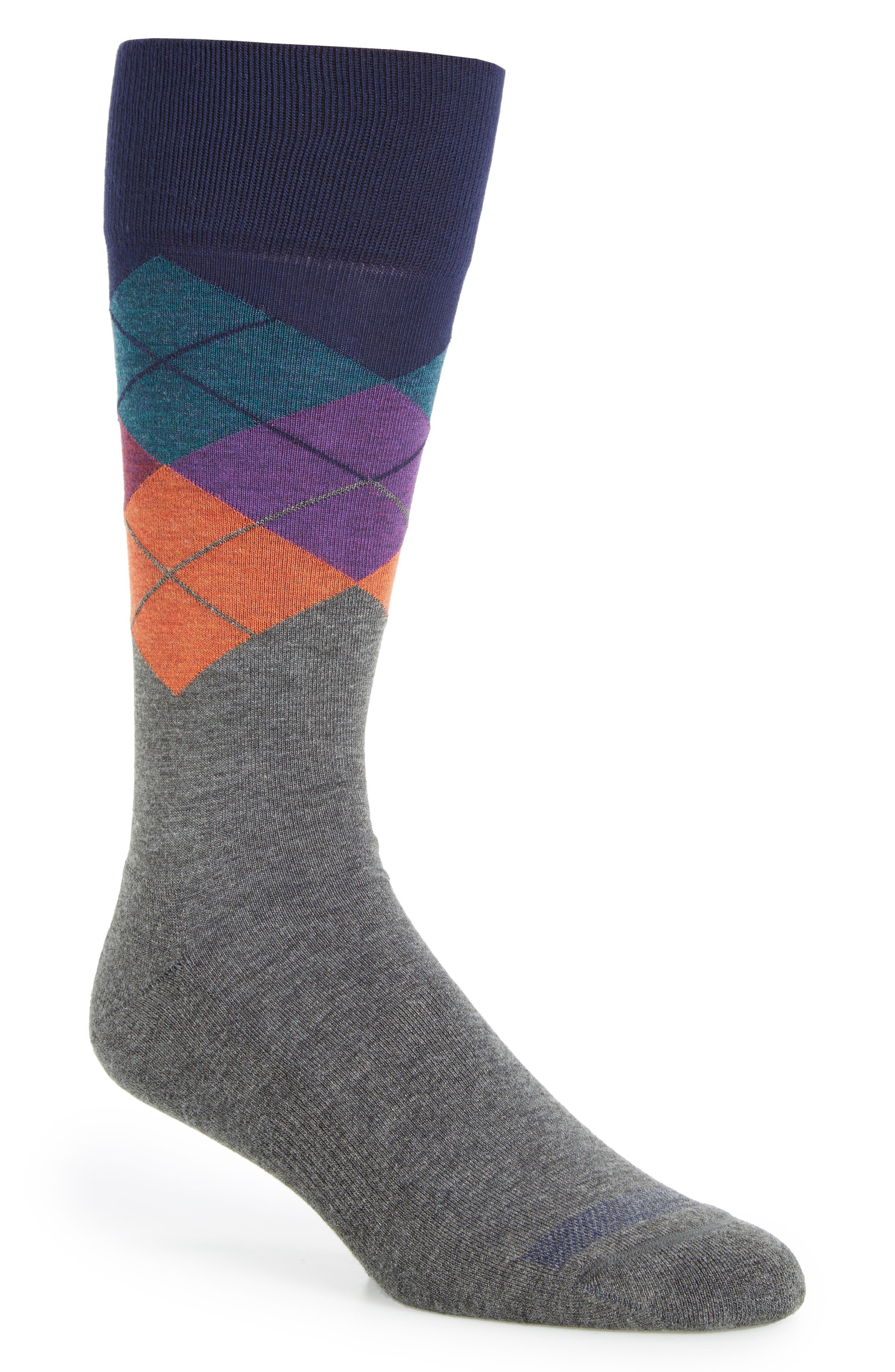 Argyle Socks,                             Main thumbnail 4, color,