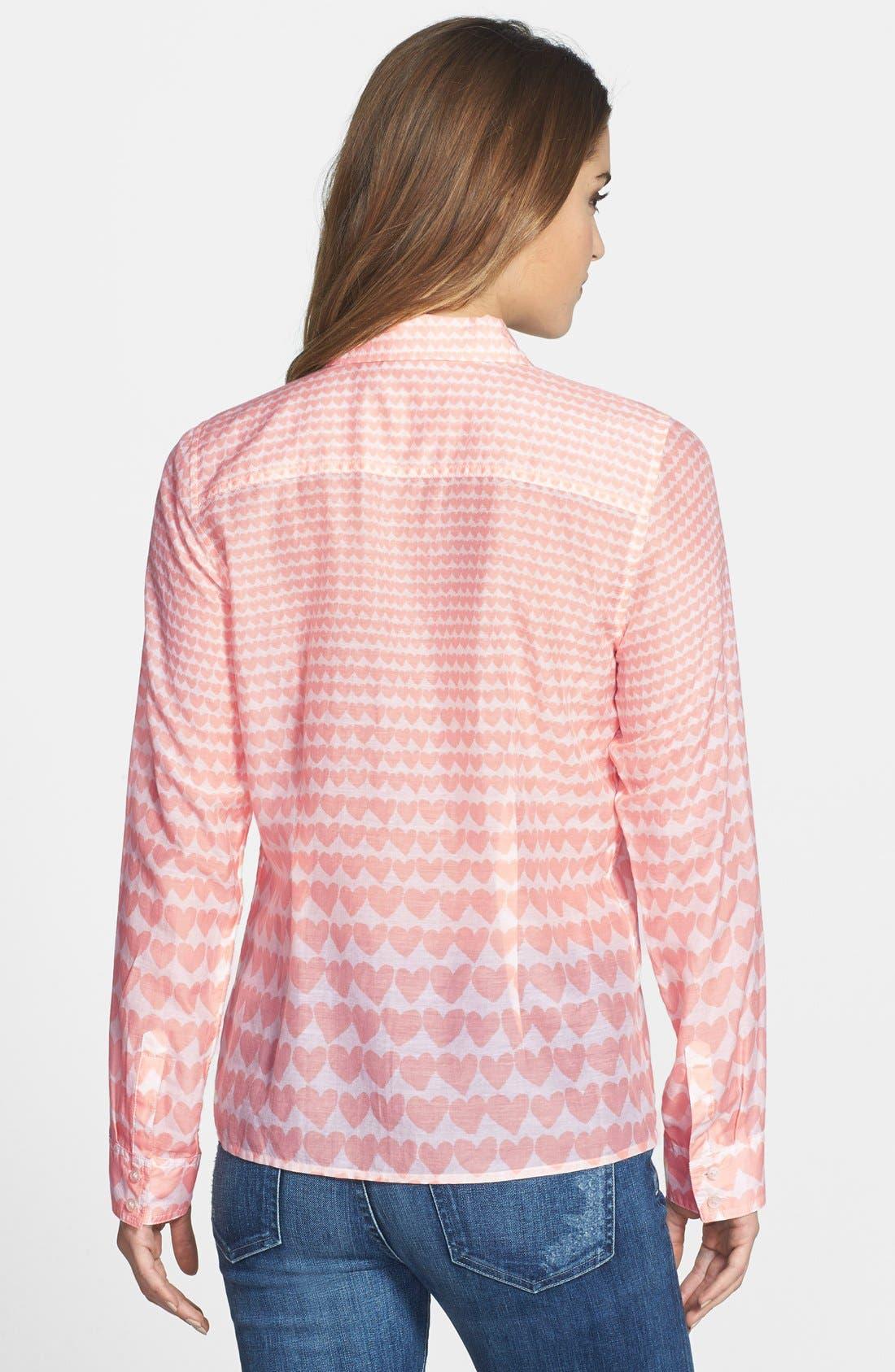 Cotton & Silk Shirt,                             Alternate thumbnail 83, color,