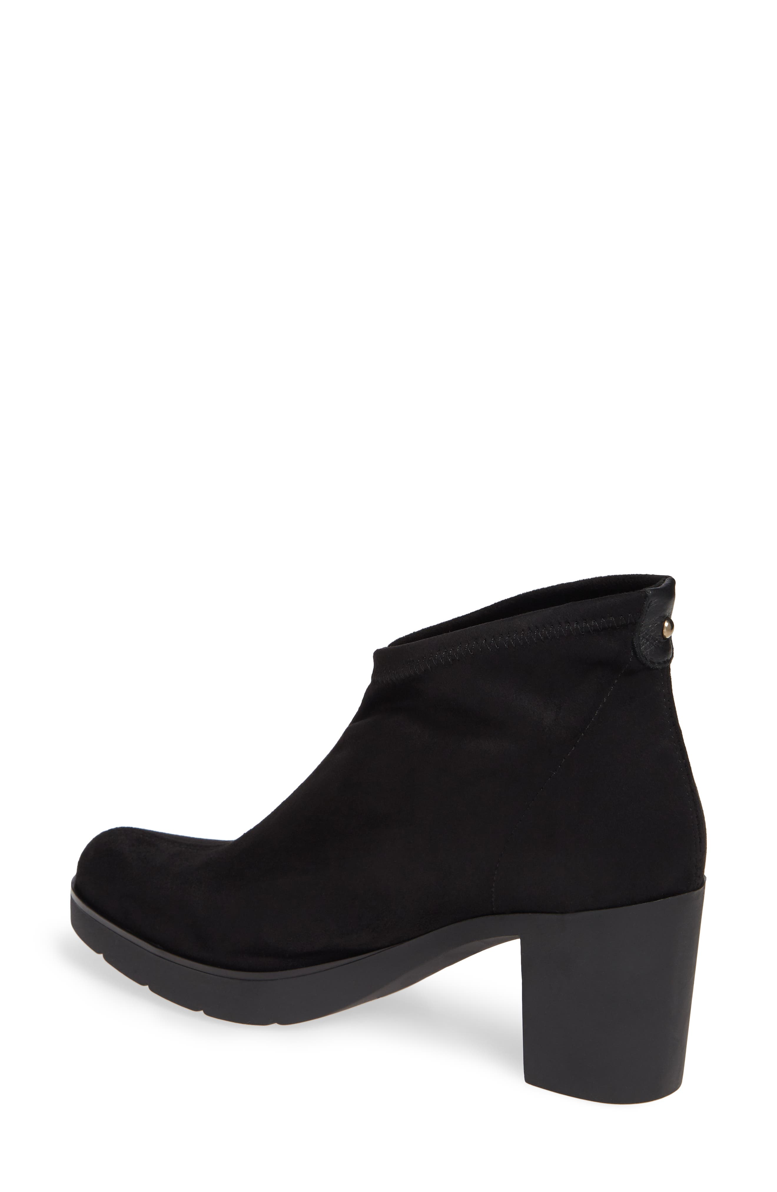 'Finley' Bootie,                             Alternate thumbnail 2, color,                             BLACK/ BLACK FABRIC