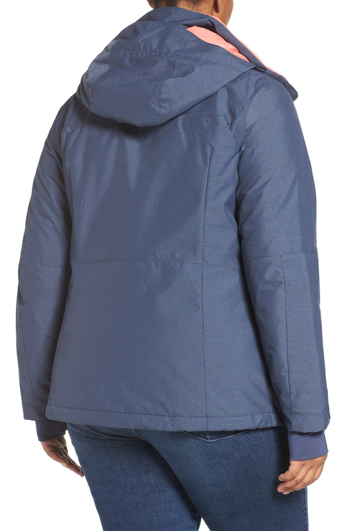 Alpine Action Waterproof Omni-Heat<sup>®</sup> Hooded Jacket,                             Alternate thumbnail 6, color,