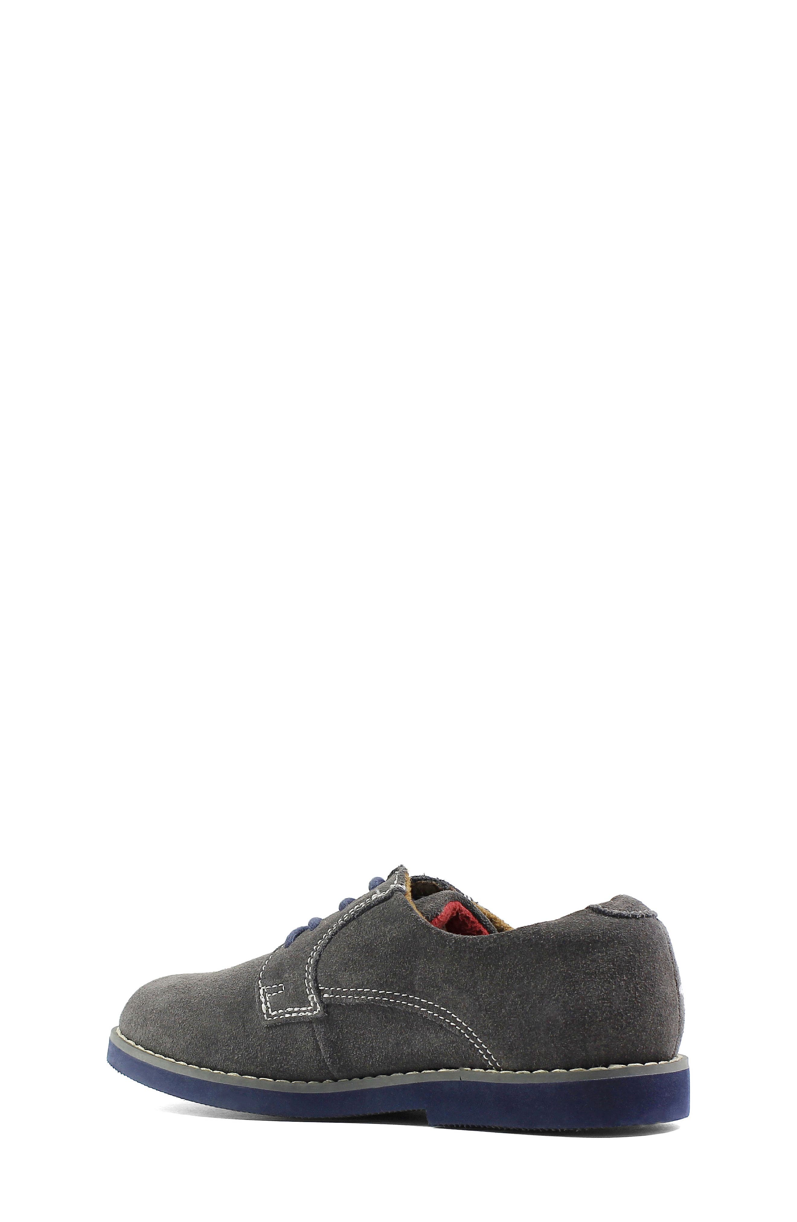 Kearny Two Tone Oxford,                             Alternate thumbnail 3, color,                             GREY/ NAVY SOLE