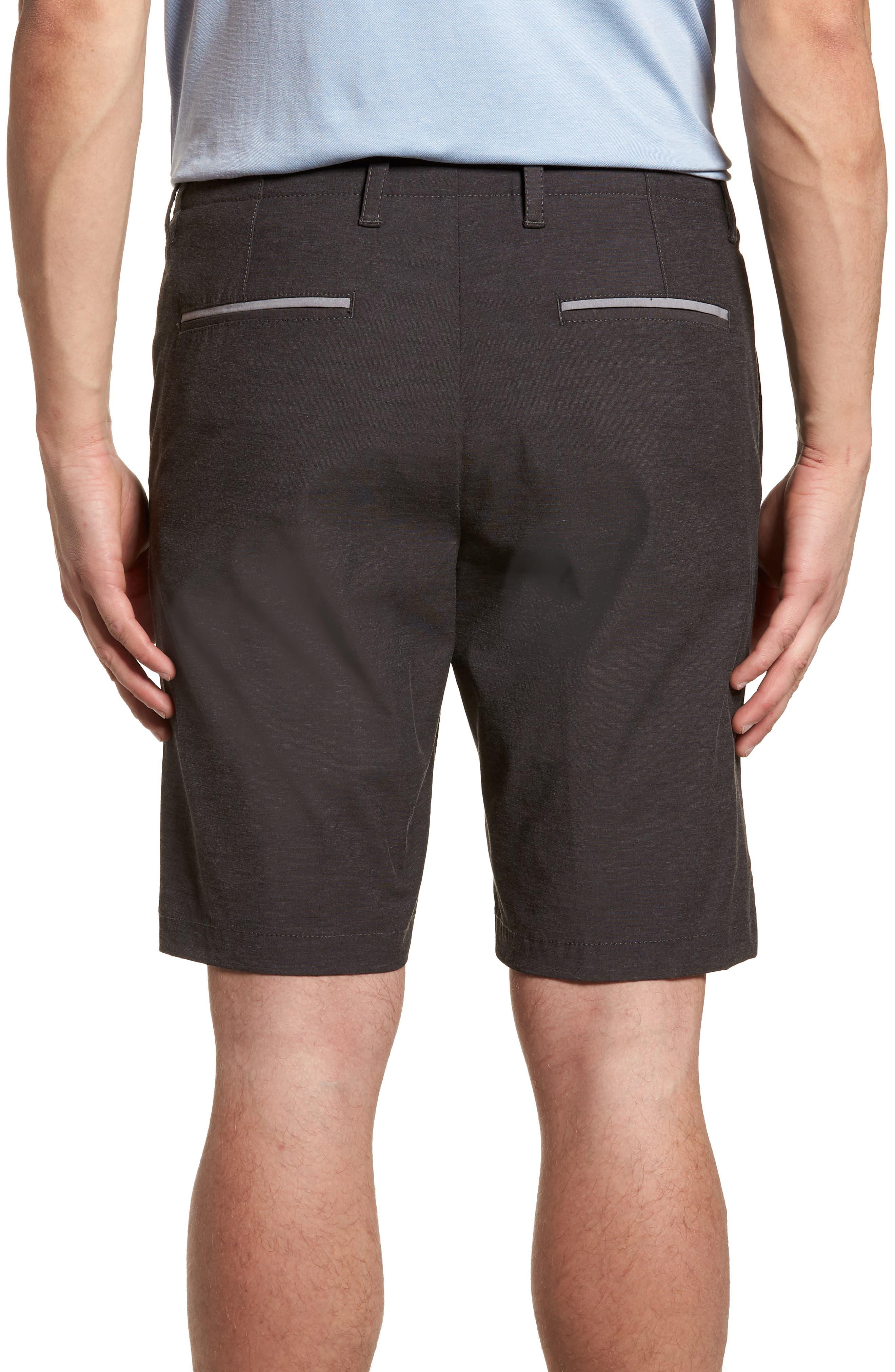 Chip & Run Shorts,                             Alternate thumbnail 2, color,                             BLACK