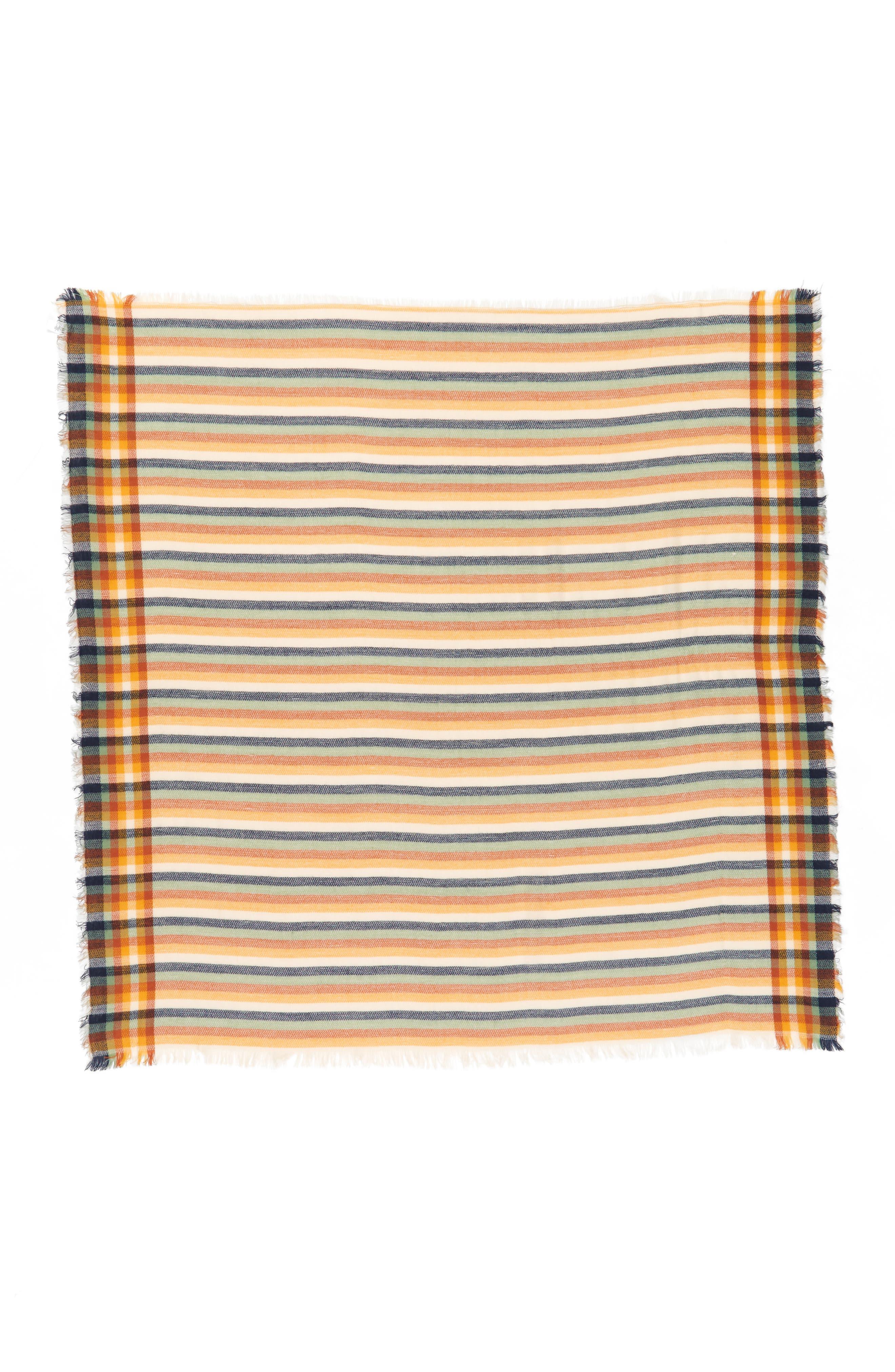 Woven Stripe Scarf,                             Alternate thumbnail 2, color,                             200
