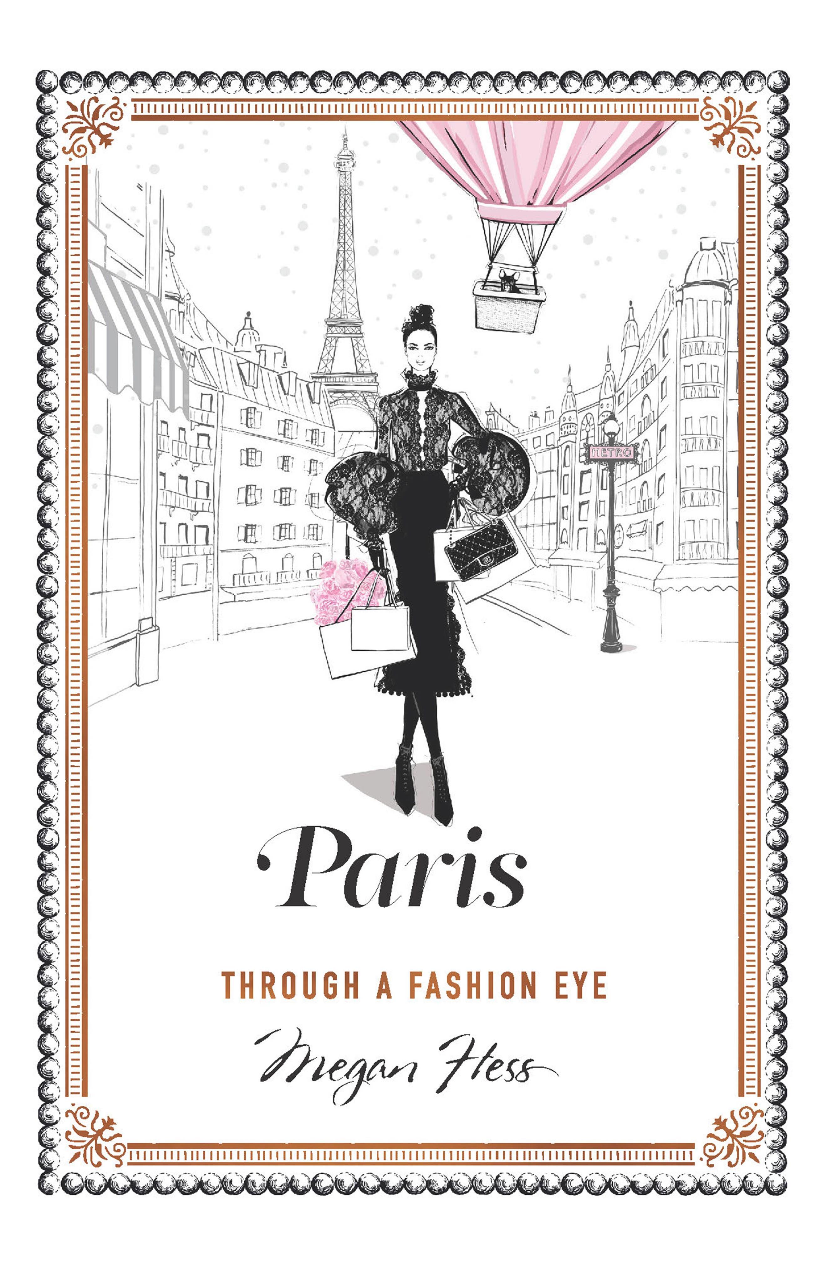Paris: Through a Fashion Eye Book,                             Main thumbnail 1, color,                             100