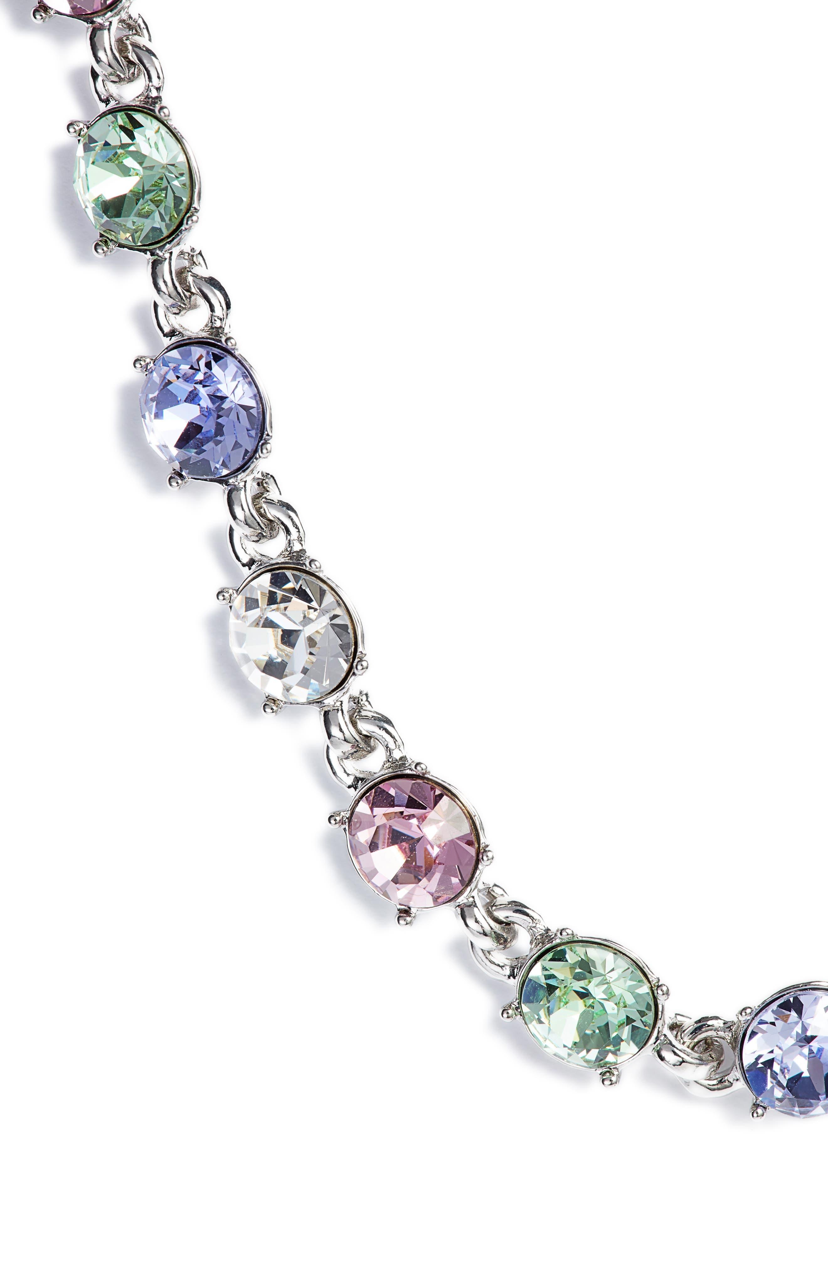 Swarovski Crystal Collar Necklace,                         Main,                         color, 040